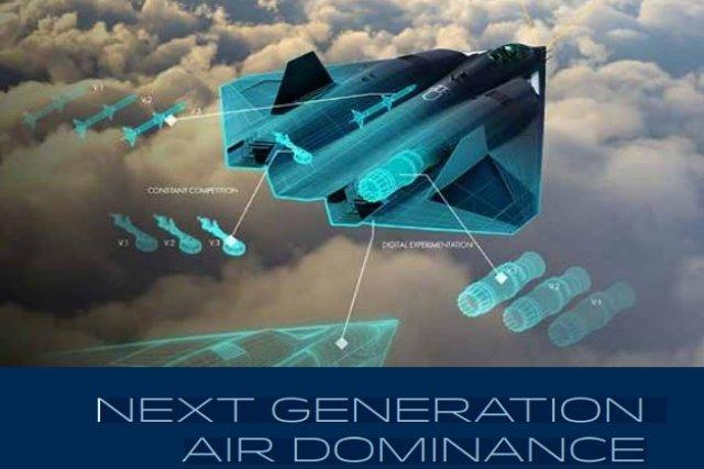 Ποιο μαχητικό πέμπτης γενιάς; Οι Αμερικανοί αποκάλυψαν στοιχεία για το αεροσκάφος έκτης γενιάς NGAD!