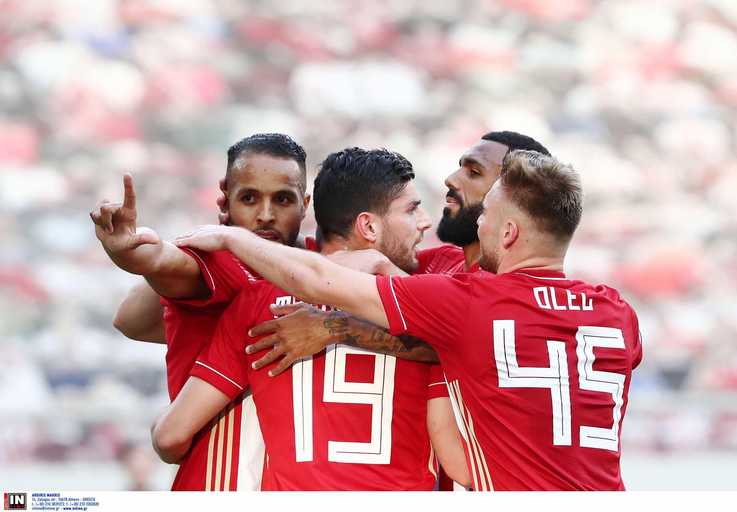 Ολυμπιακός – ΠΑΣ Γιάννινα: Με «καυτό» Ελ Αραμπί προκρίθηκε στον τελικό