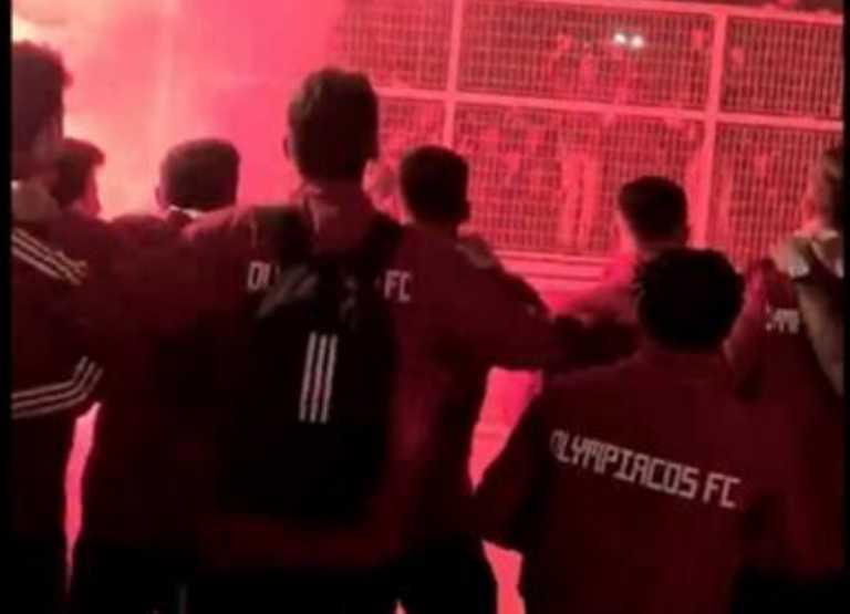 Ολυμπιακός: Αποθέωση από οπαδούς στου Ρέντη, χαμός μετά την πεντάρα στην ΑΕΚ (video)