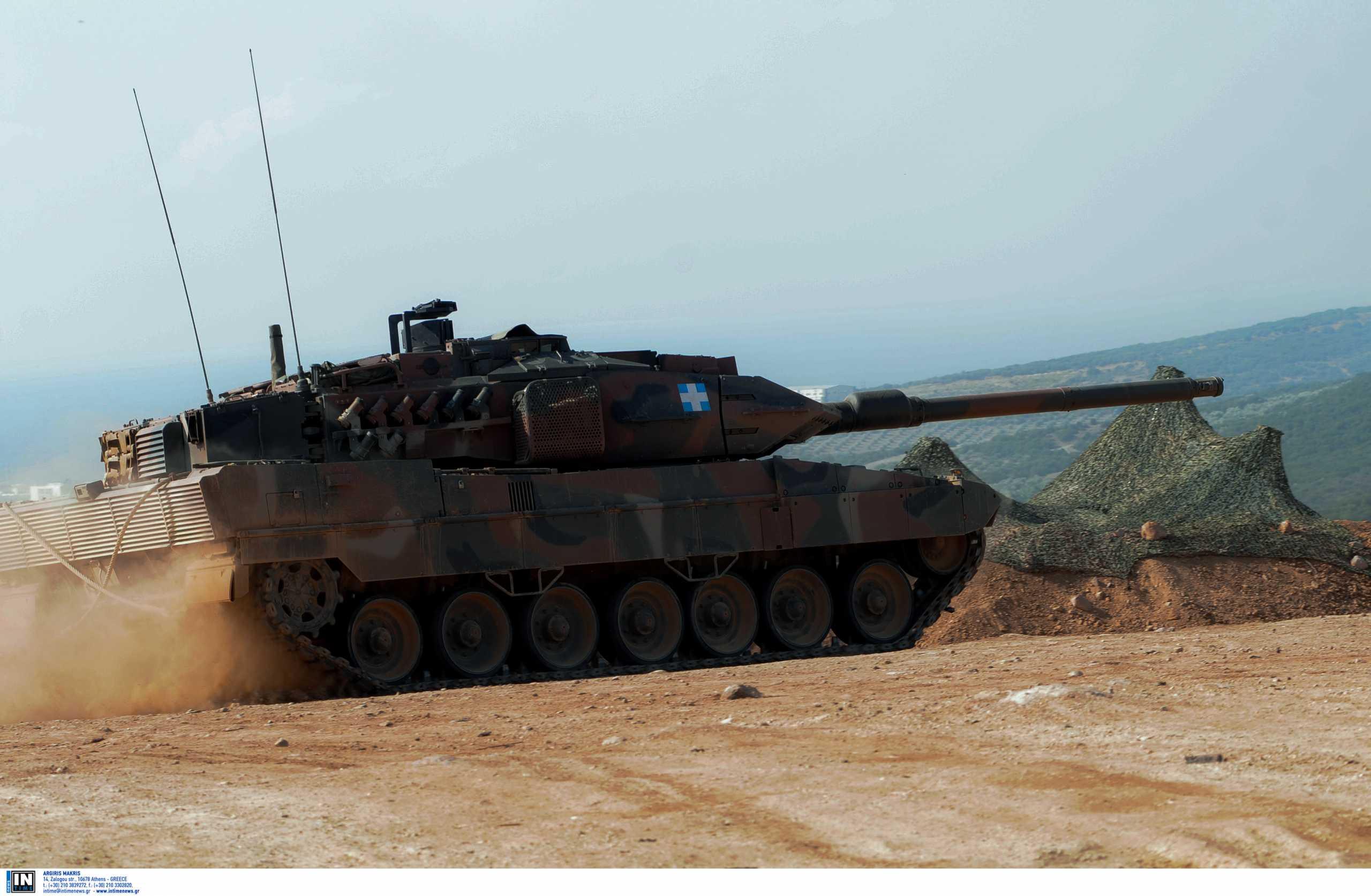 Στο «στόχαστρο» του Στρατού Ξηράς οι δυνατότητες αναβάθμισης των αρμάτων μάχης Leopard