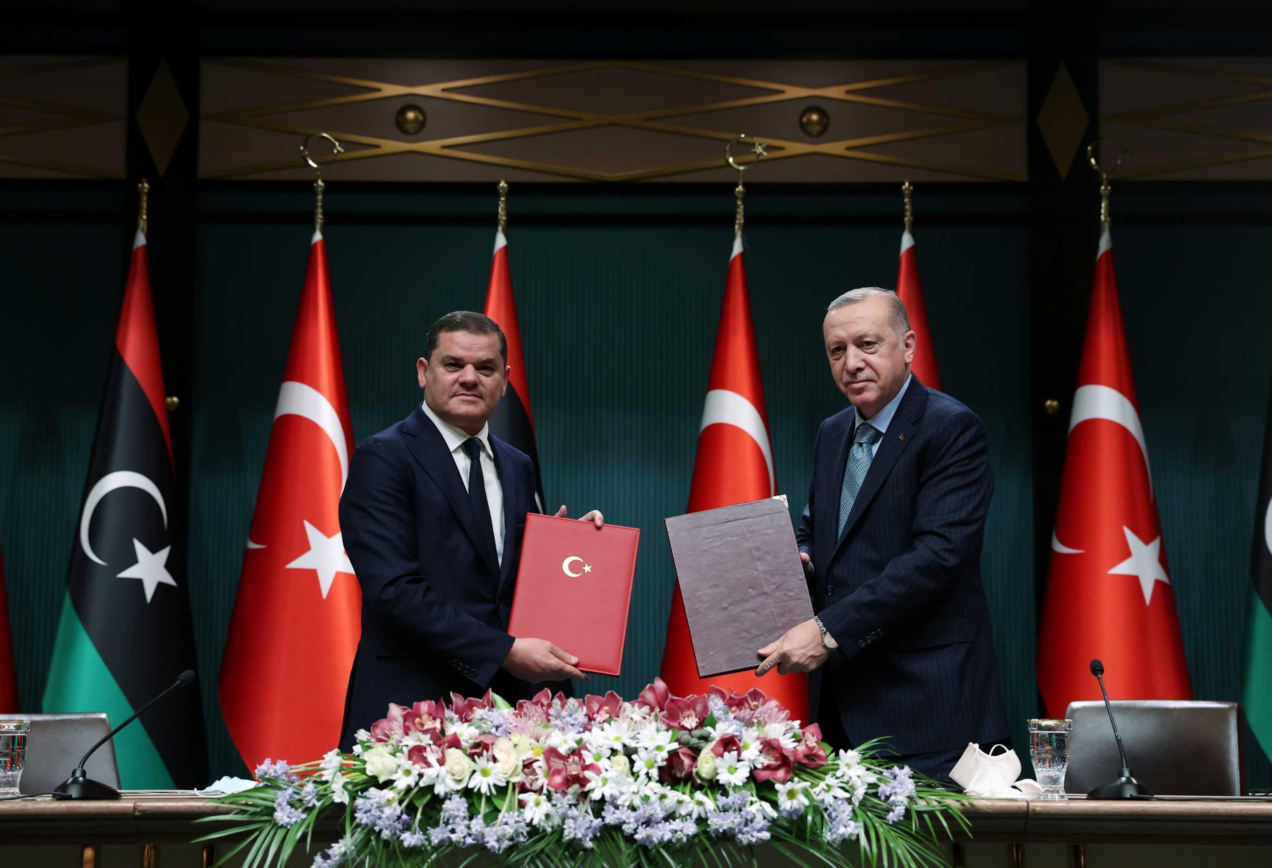 Ερντογάν: Τουρκία και Λιβύη είναι δεσμευμένες στο μνημόνιο οριοθέτησης θαλασσίων ζωνών!