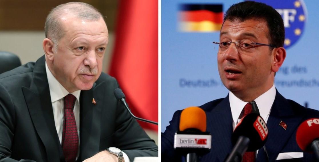 Διπλό «χαστούκι» Ερντογάν σε δημοσκόπηση: Τον ξεπερνούν σε ποσοστά Ιμάμογλου και Γιαβάς