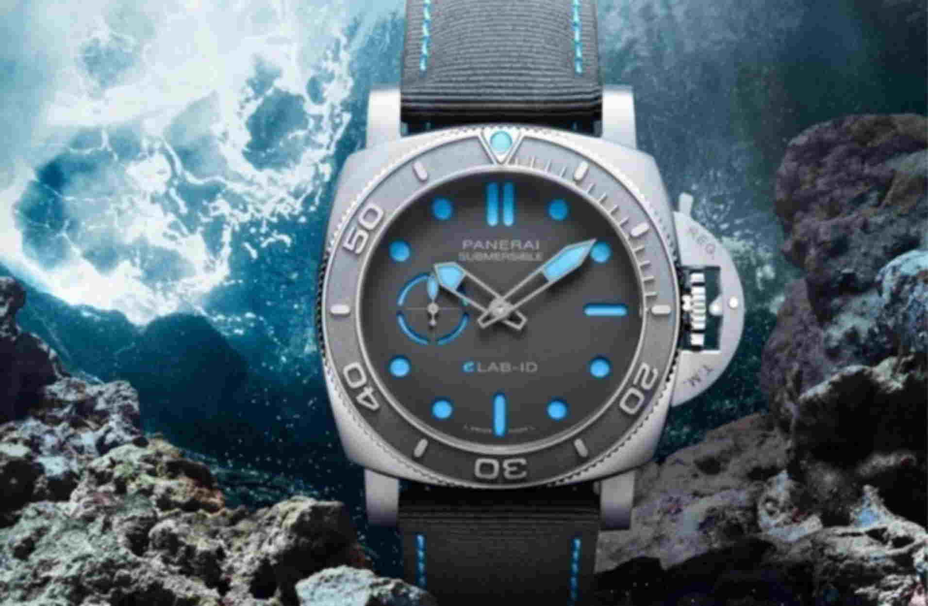 Η Panerai κυκλοφόρησε ένα συναρπαστικό ρολόι που είναι 98,6% ανακυκλωμένο