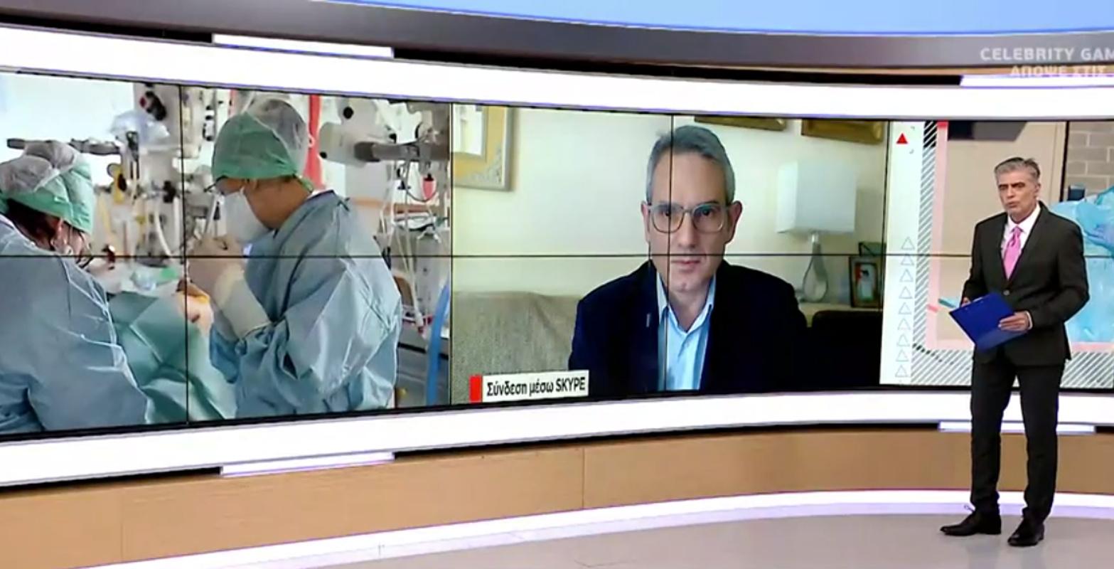 Κορονοϊός: Πτωτική τάση βλέπει ο καθηγητής Παρασκευής – Πότε θα καταργηθούν τα SMS
