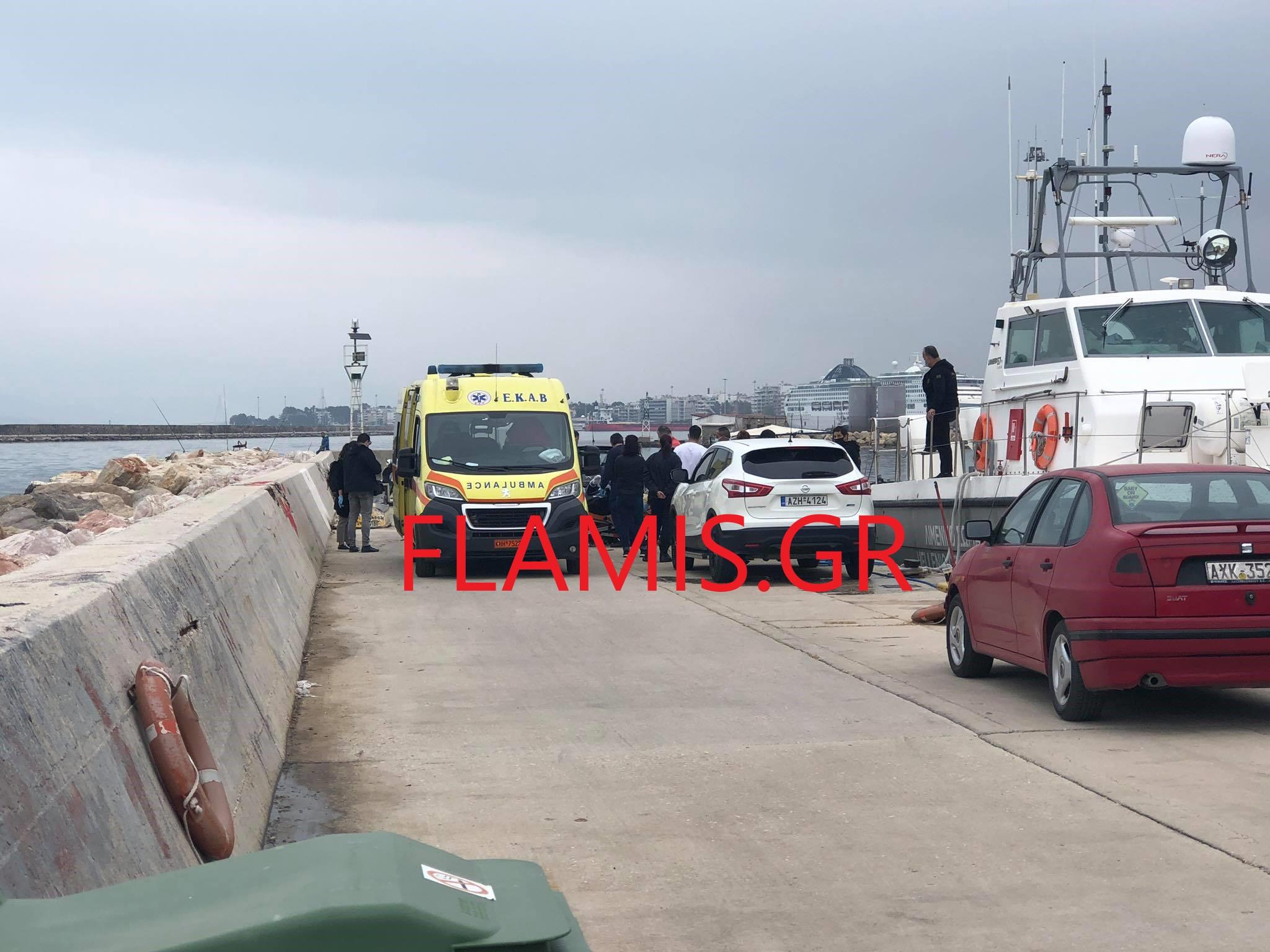 Πάτρα: Έκαναν βόλτα στο λιμάνι και είδαν… πτώμα! Συναγερμός στις αρχές