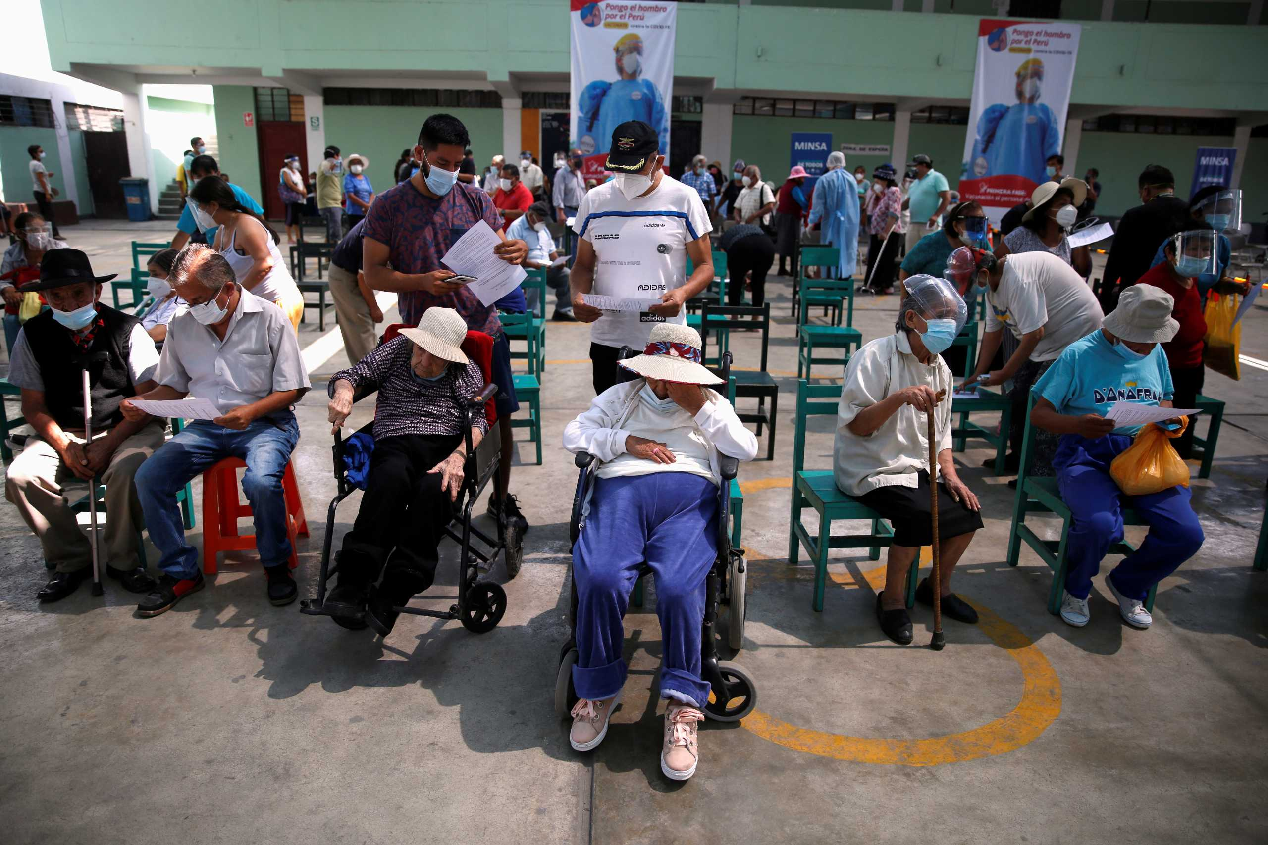 Σαρώνει ο κορονοϊός και στο Περού: 13.326 κρούσματα και 337 θάνατοι