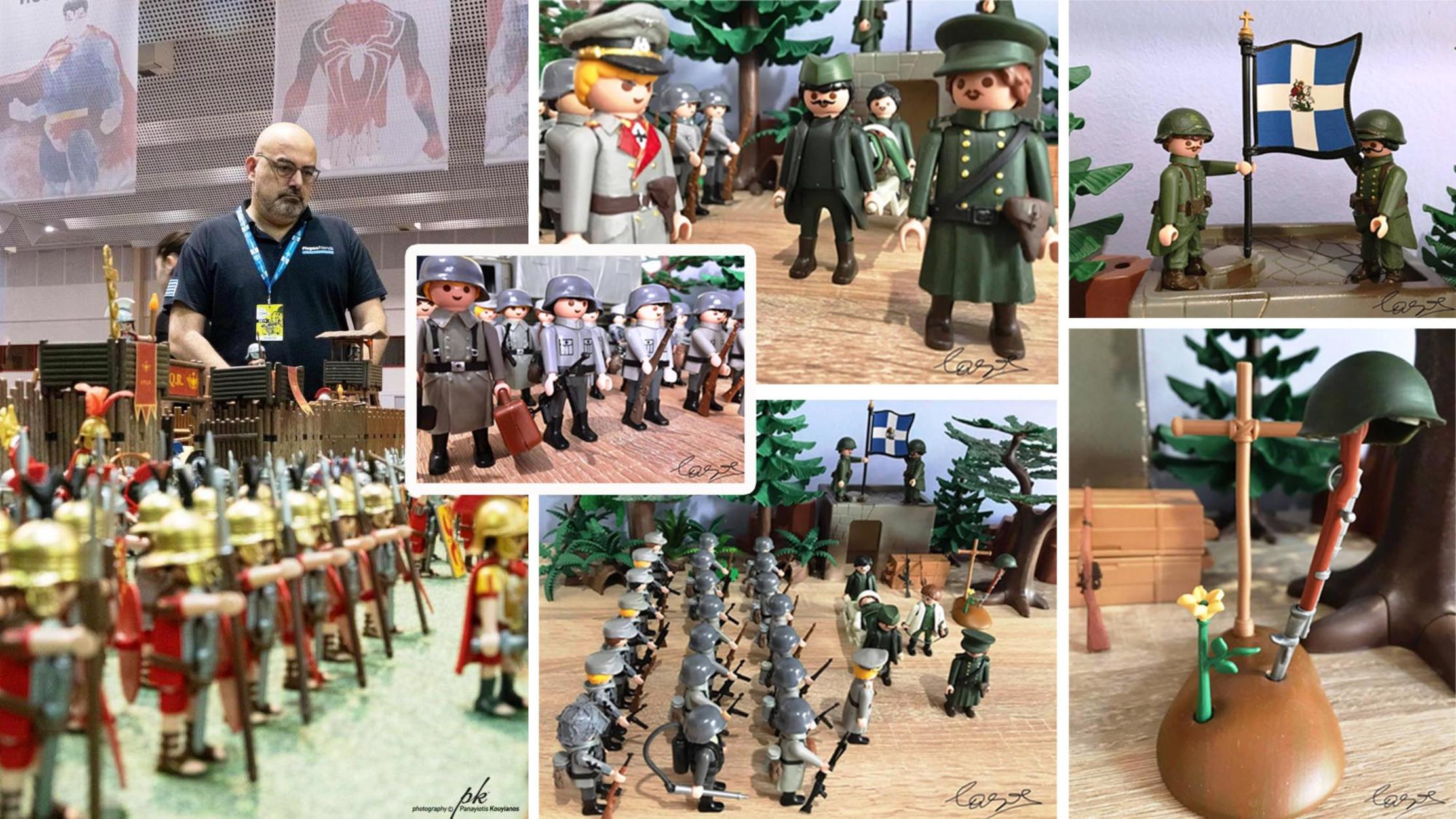 Η Μάχη του Οχυρού Ρούπελ σε μια εντυπωσιακή αναπαράσταση με Playmobil (pic)