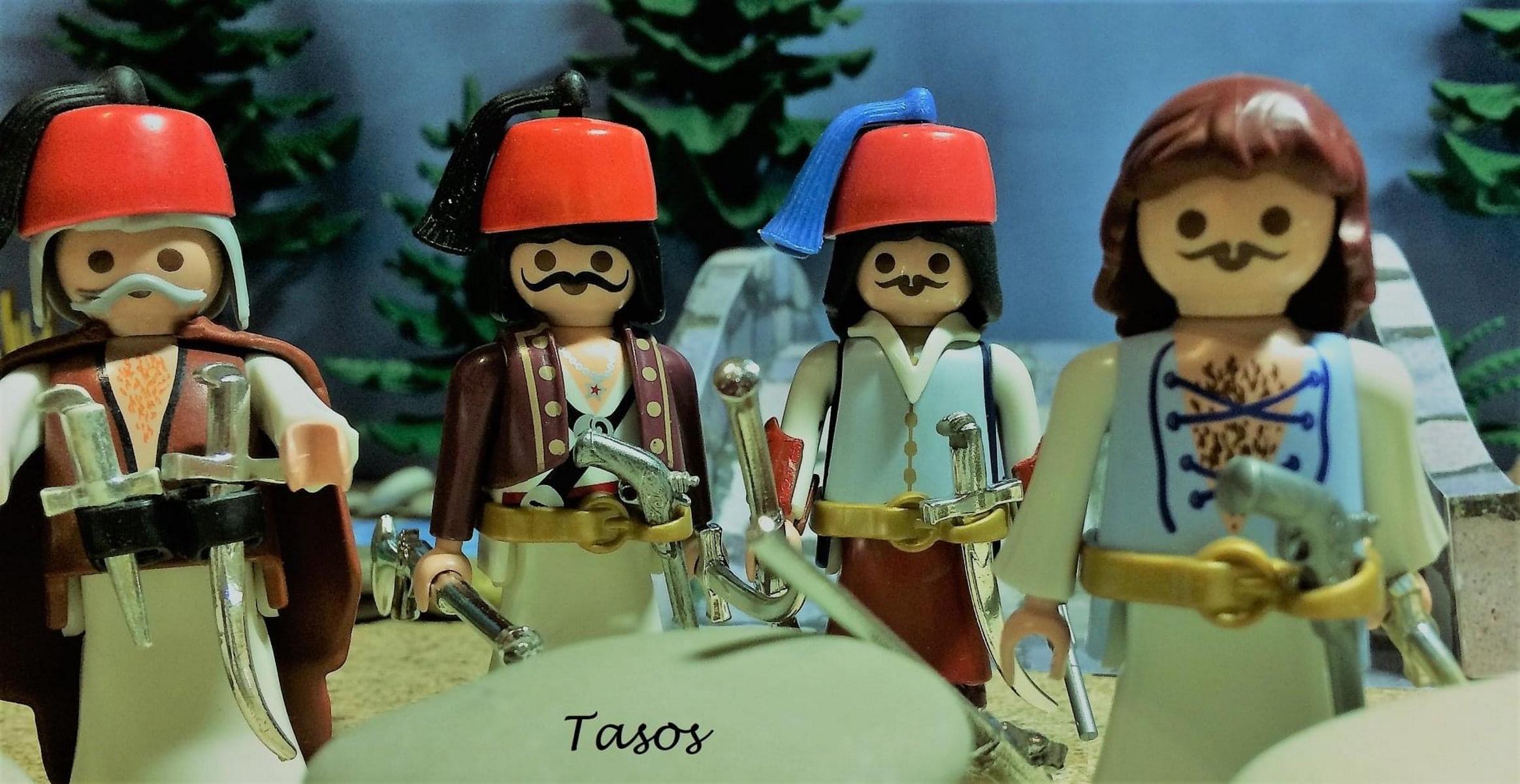 Ο Θεσσαλονικιός που αναπαριστά τη μάχη της Αλαμάνας με playmobil (pics)