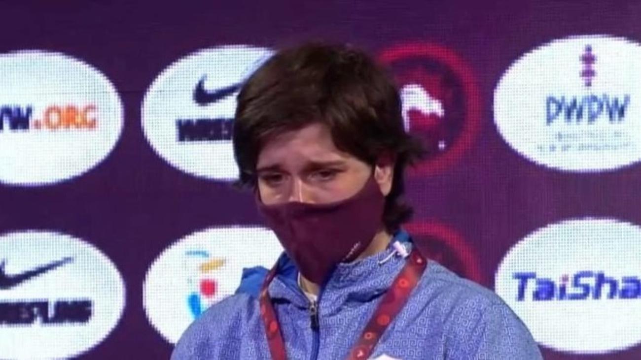 Πρεβολαράκη: «Ασημένια» στο ευρωπαϊκό πρωτάθλημα Πάλης