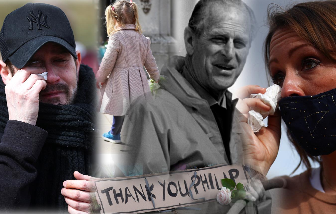 Η Βρετανία θρηνεί τον πρίγκιπα Φίλιππο – Δάκρυα και λουλούδια σε Μπάκιγχαμ και Γουίνδσορ