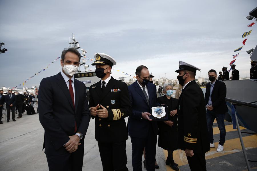 Μητσοτάκης: «Τα σκάφη του Λιμενικού είναι πλωτά συνοριακά φυλάκια»