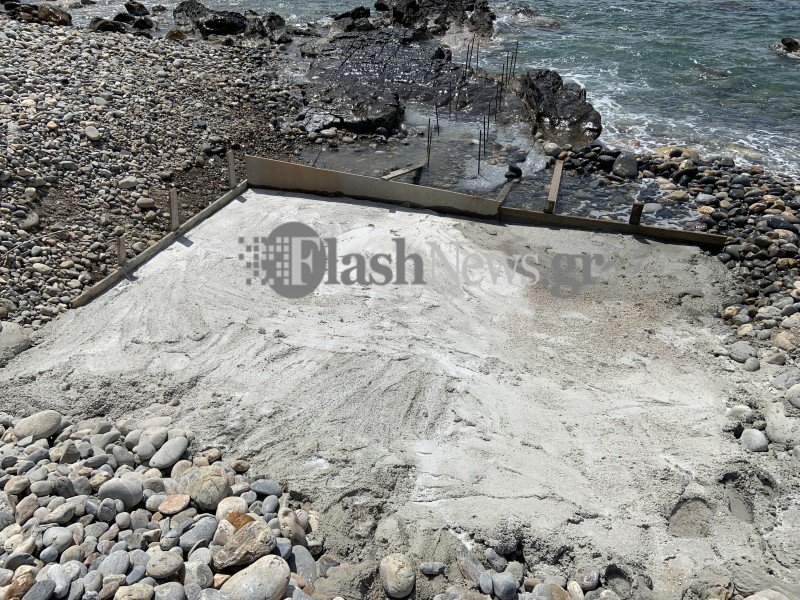 Χανιά: Καταπάτησαν και μπάζωσαν παραλία – Δείτε τις εικόνες που άφησαν στην Κίσαμο (pics)