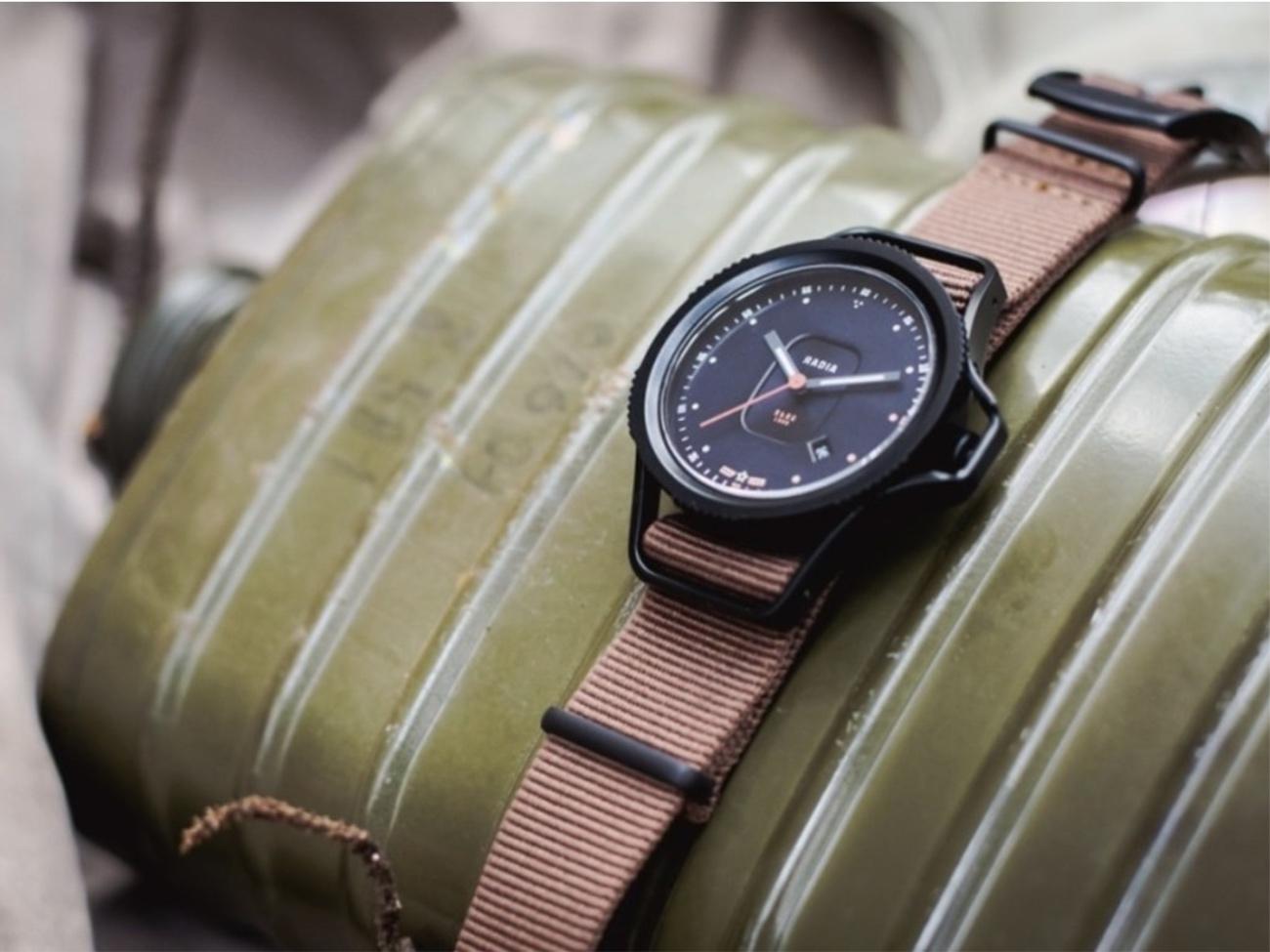 Η μάρκα που δημιουργεί στιβαρά και προσιτά ρολόγια με έμπνευση το Τσερνόμπιλ