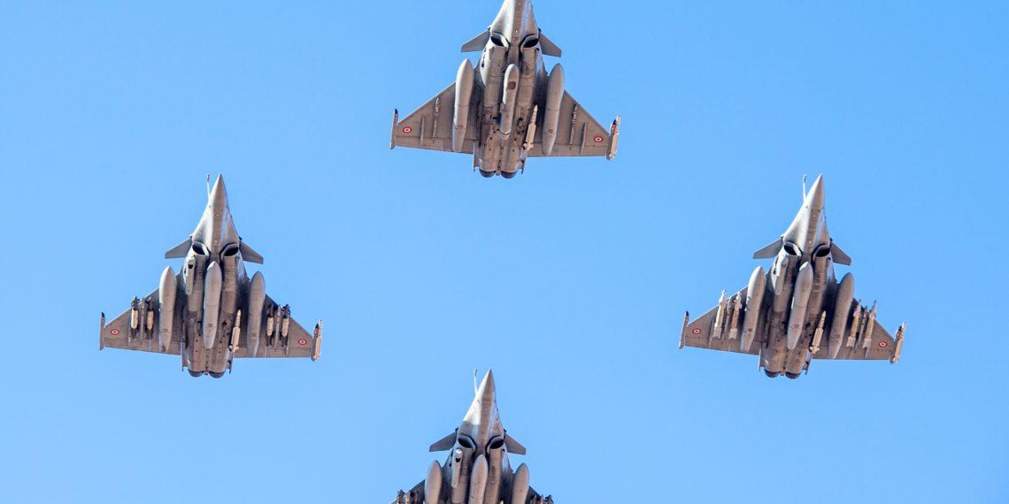 Ηνίοχος 21: Στην Ανδραβίδα τα πρώτα γαλλικά Rafale και αμερικανικά F-16!