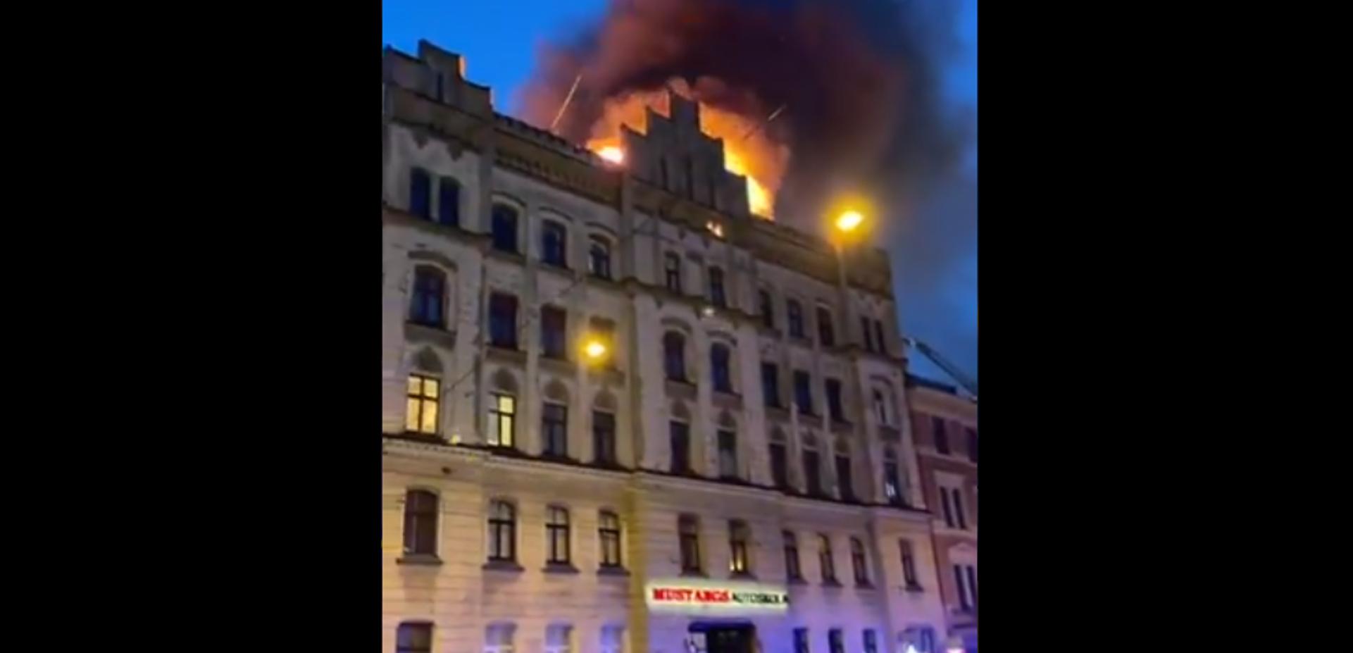 Λετονία: Οκτώ νεκροί από πυρκαγιά σε «παράνομο» τουριστικό ξενώνα στη Ρίγα