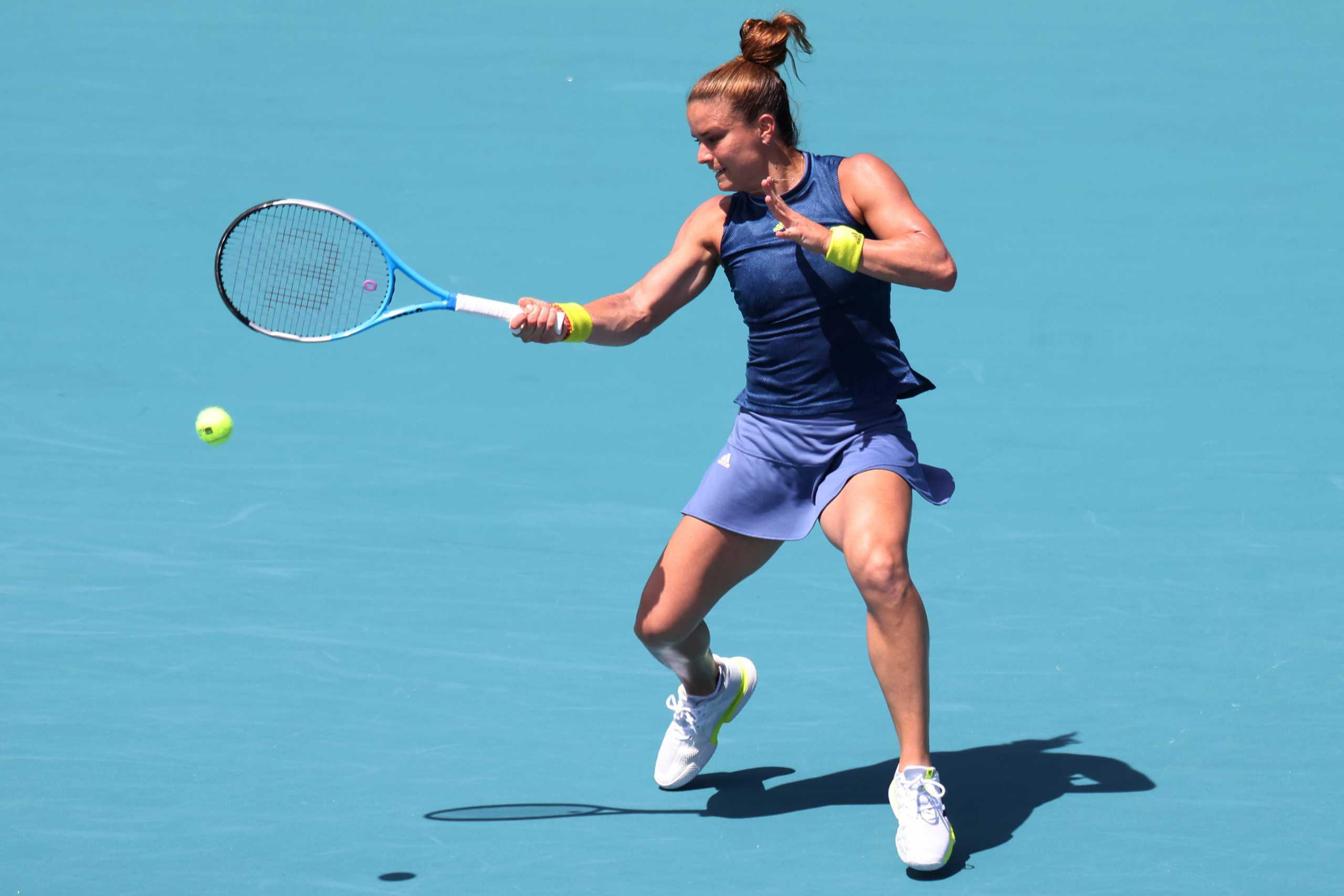 Σάκκαρη: Έπεσε «ηρωϊκά» η Μαρία στο Miami Open (video)