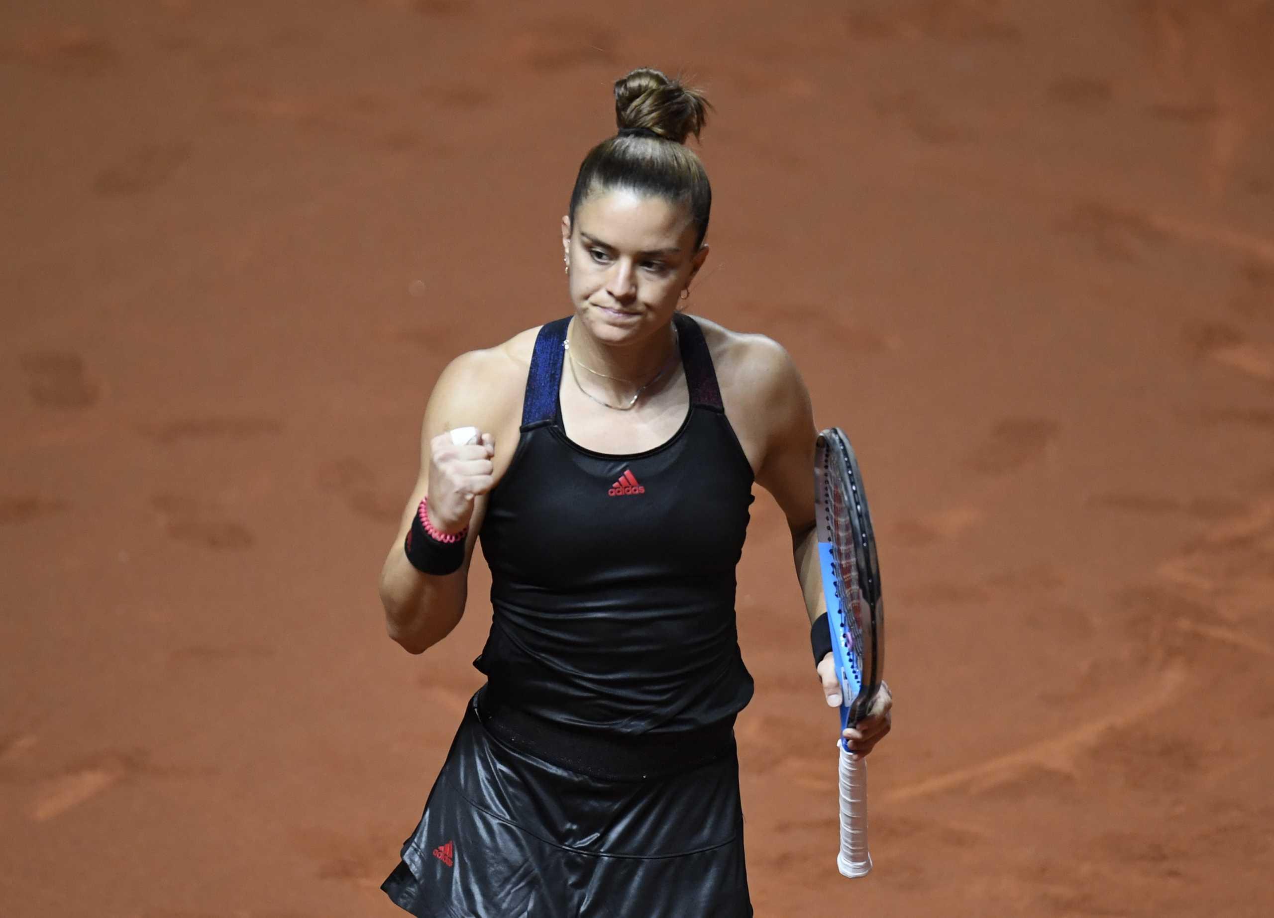 Η Σάκκαρη στον 2ο γύρο του Madrid Open με «περίπατο» κόντρα στην Κονταβέιτ