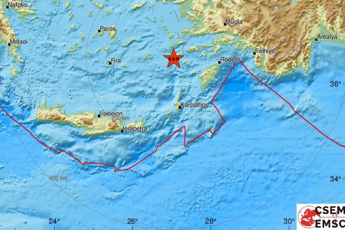 Σεισμός στη Νίσυρο – Λέκκας: Καμία σχέση με το ηφαίστειο