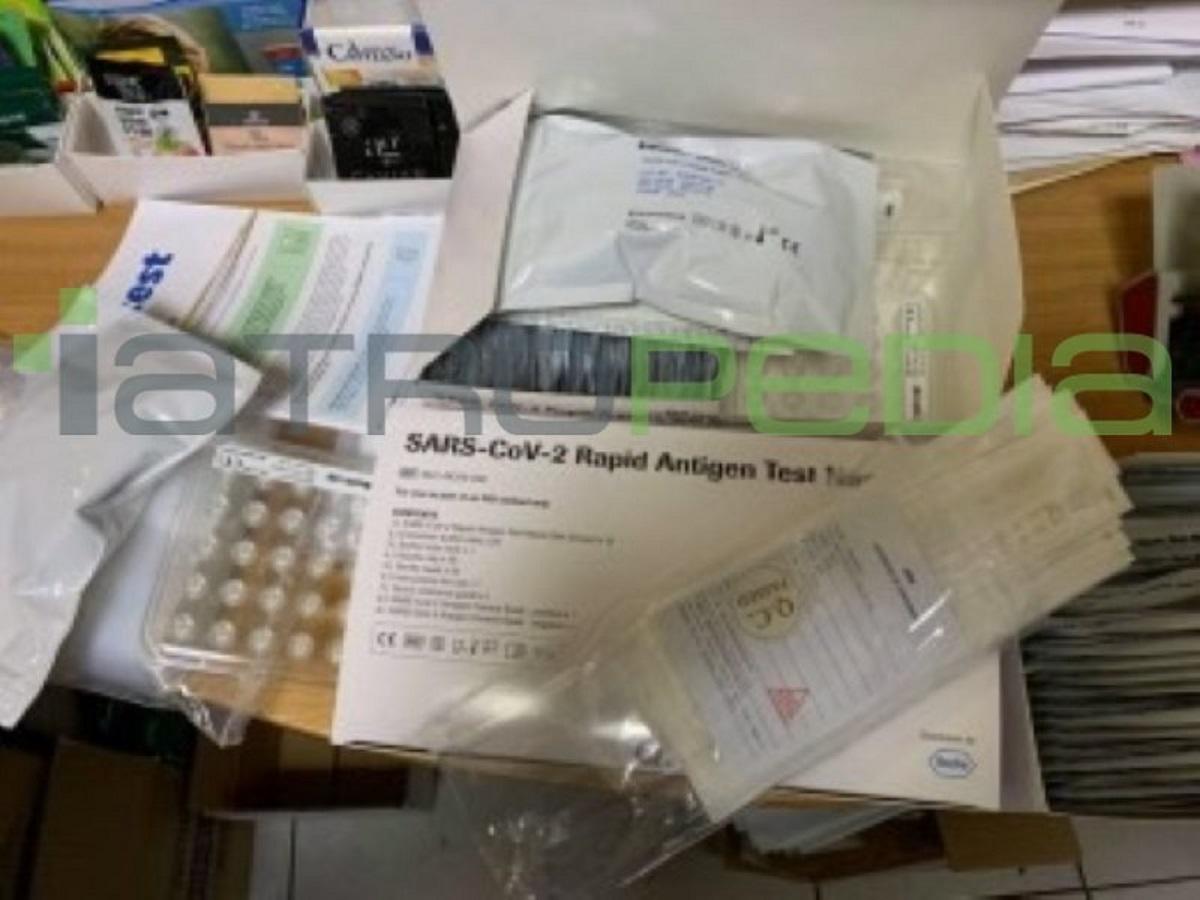 Γεωργιάδης για self test κορονοϊού: Οι φαρμακοποιοί ήξεραν για τις συσκευασίες των 25 τεμαχίων (vid)