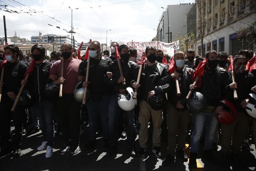 Πανεκπαιδευτικό συλλαλητήριο στην Αθήνα – Κλειστοί δρόμοι στο κέντρο (pics)