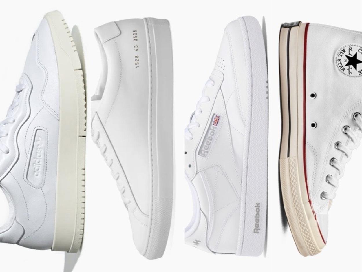 Τα 15 καλύτερα λευκά sneakers που μπορείς να αγοράσεις το 2021