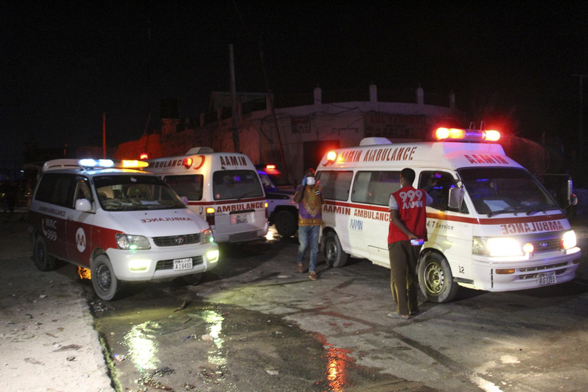 Σομαλία: 16 νεκροί μετά από έκρηξη σε λεωφορείο