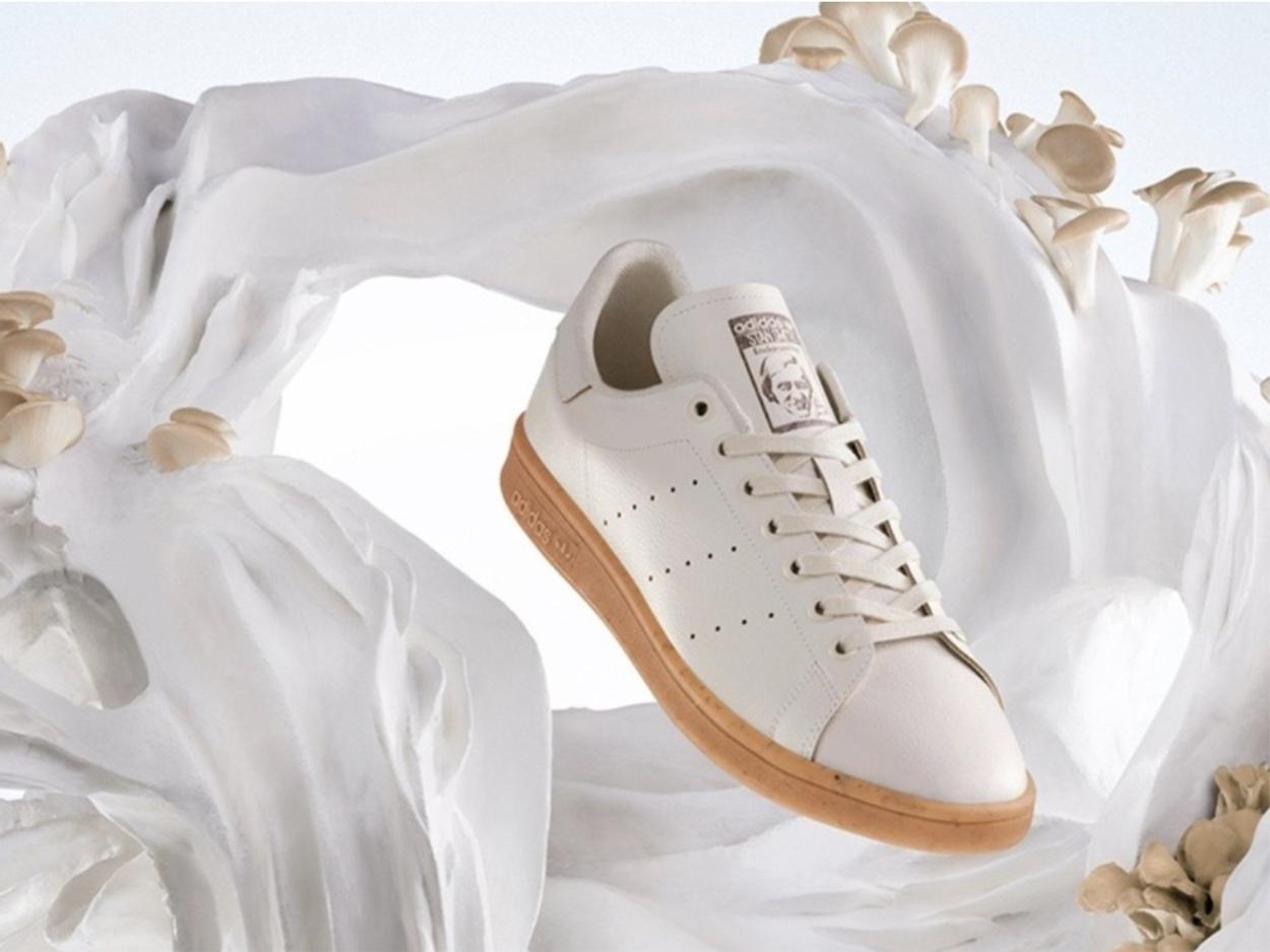 Τα νέα Stan Smith της adidas είναι από δέρμα μανιταριών