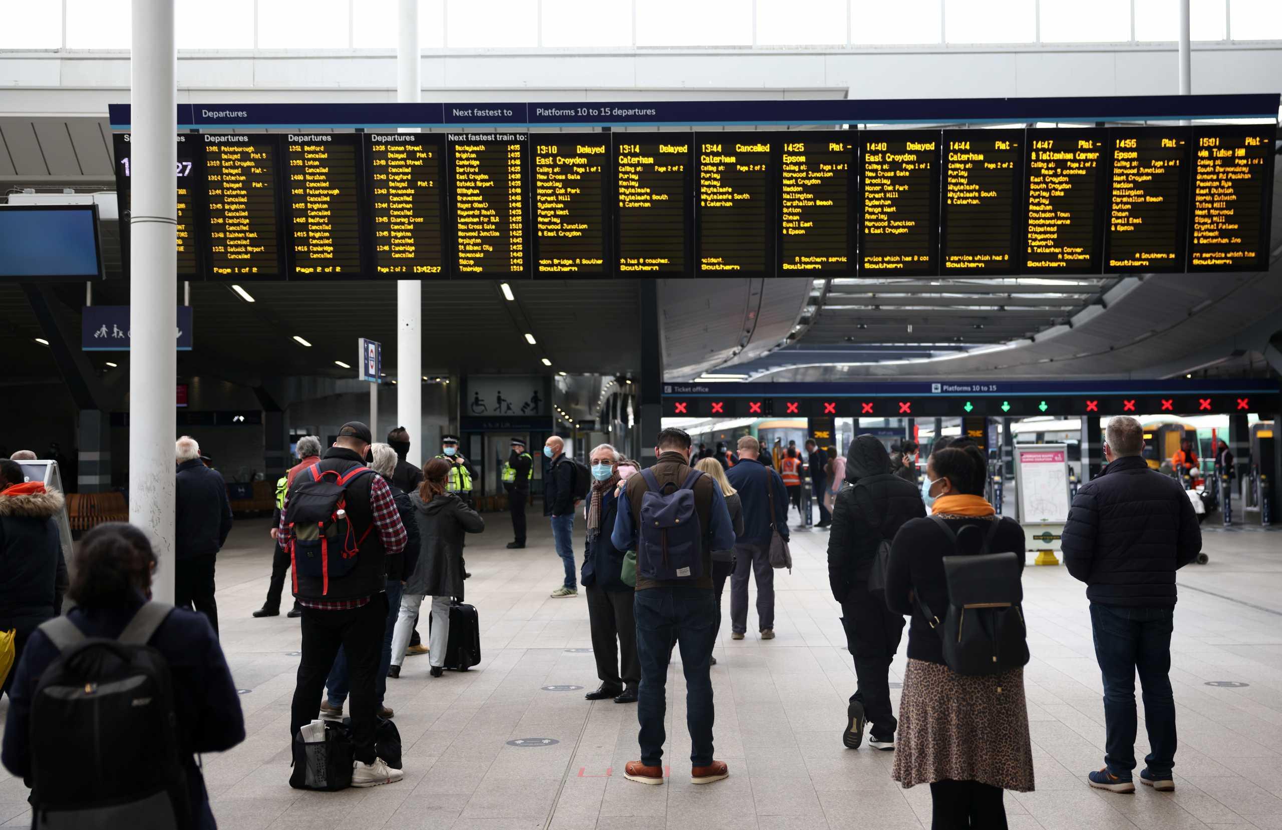 Βρετανία: Άνοιξε πάλι ο σταθμός London Bridge – Λήξη συναγερμού για το ύποπτο αντικείμενο