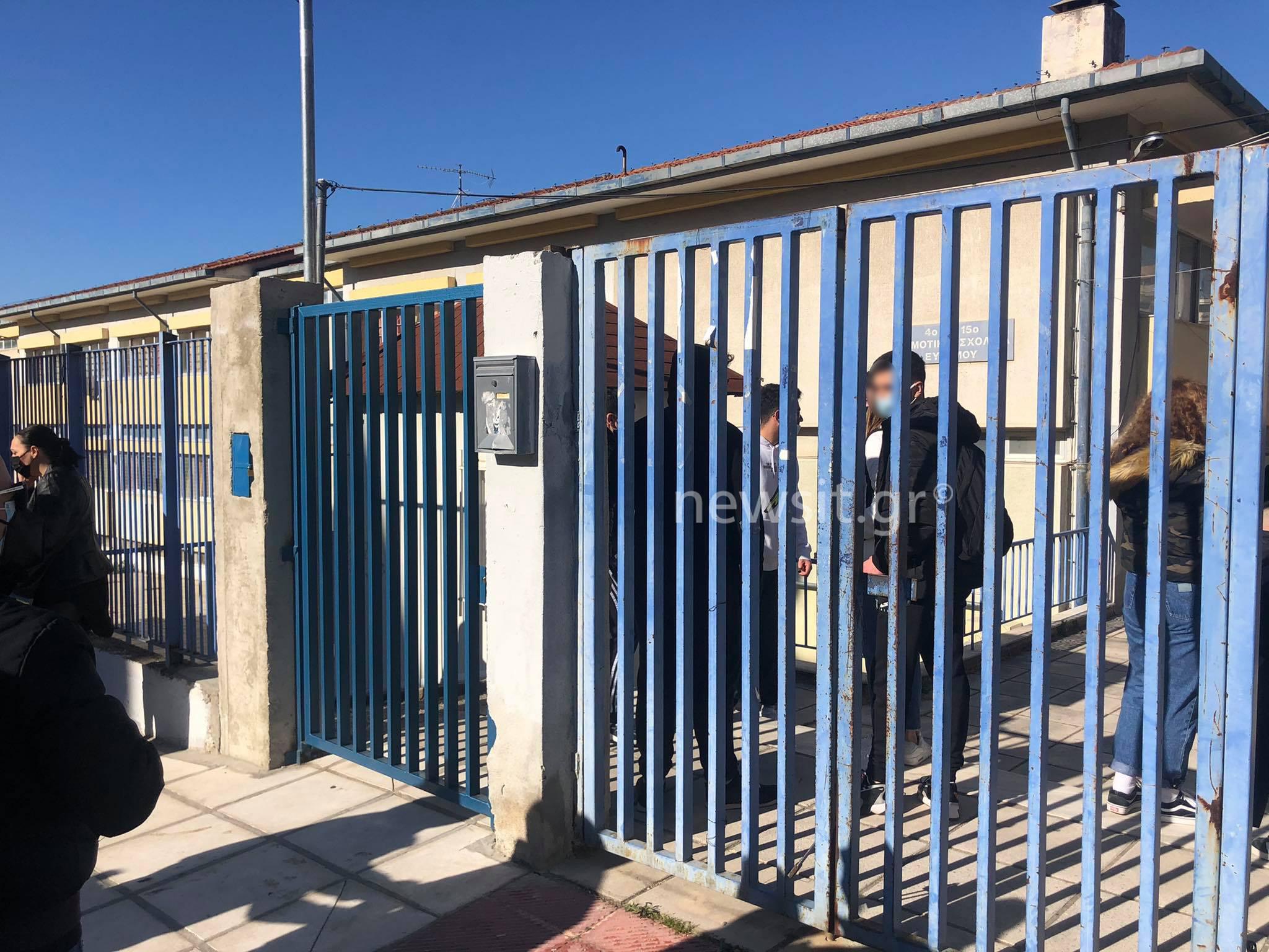 Θεσσαλονίκη: Κατάληψη σε σχολείο γιατί γονείς αρνούνται τα self test