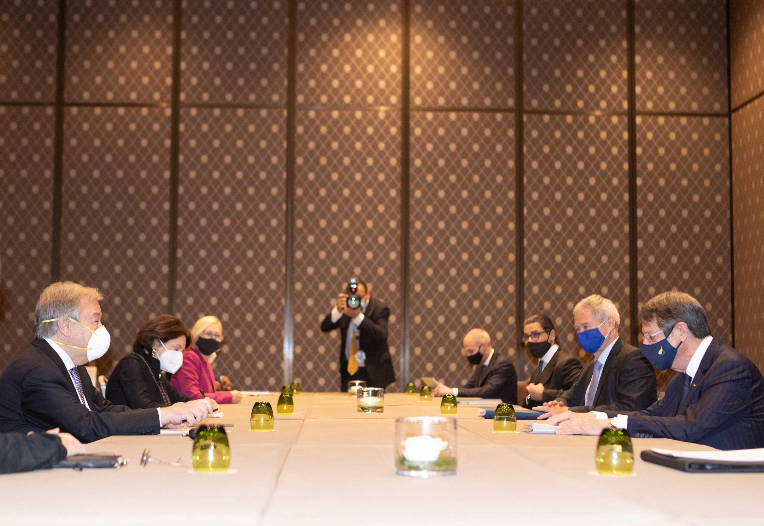 Κυπριακό: Συνομιλίες Αναστασιάδη και Νίκου Δένδια με αξιωματούχους του ΟΗΕ