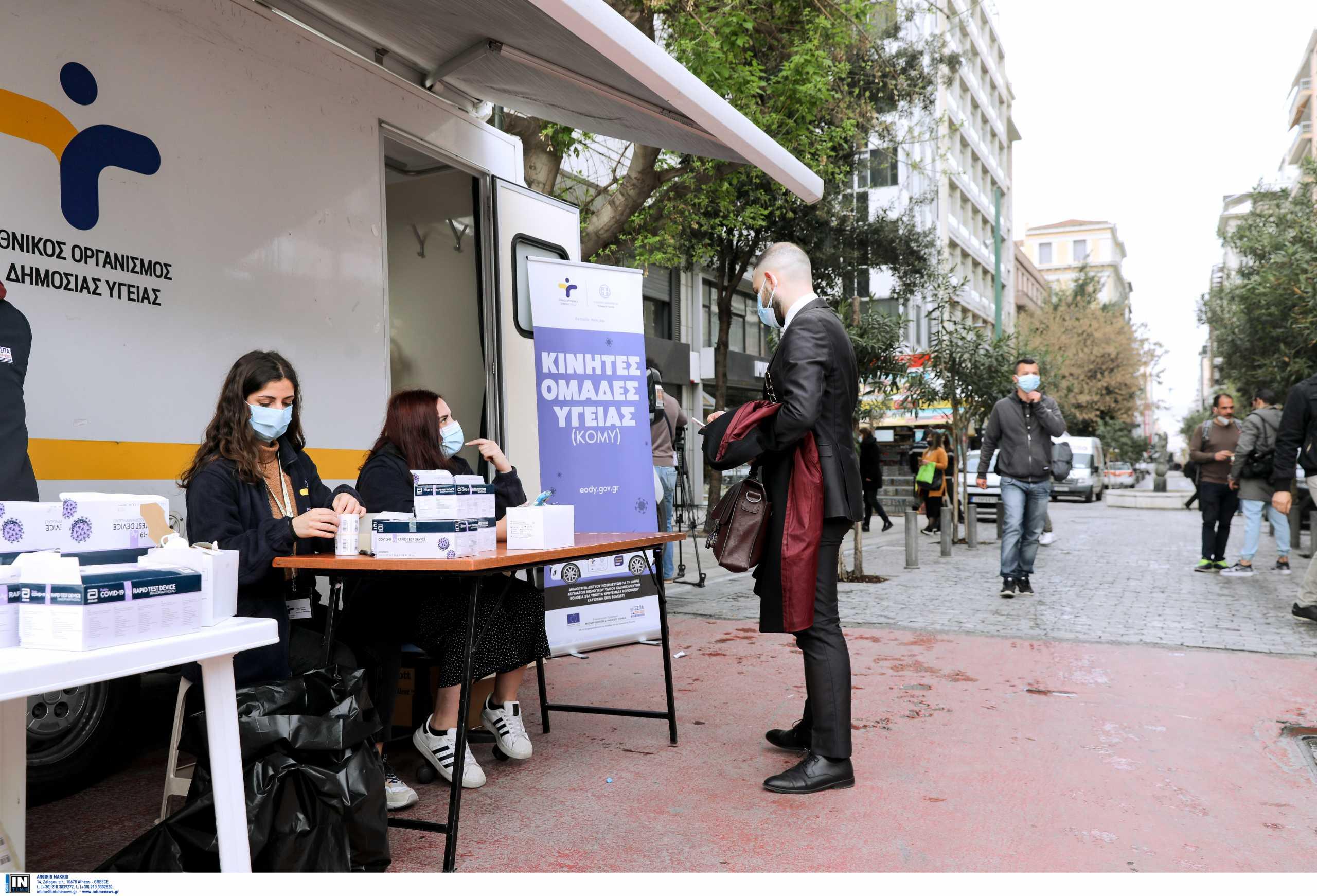 Κορονοϊός: Αθήνα, Πειραιάς και Θεσσαλονίκη «στενάζουν» από κρούσματα – Πού καταγράφονται τα υπόλοιπα