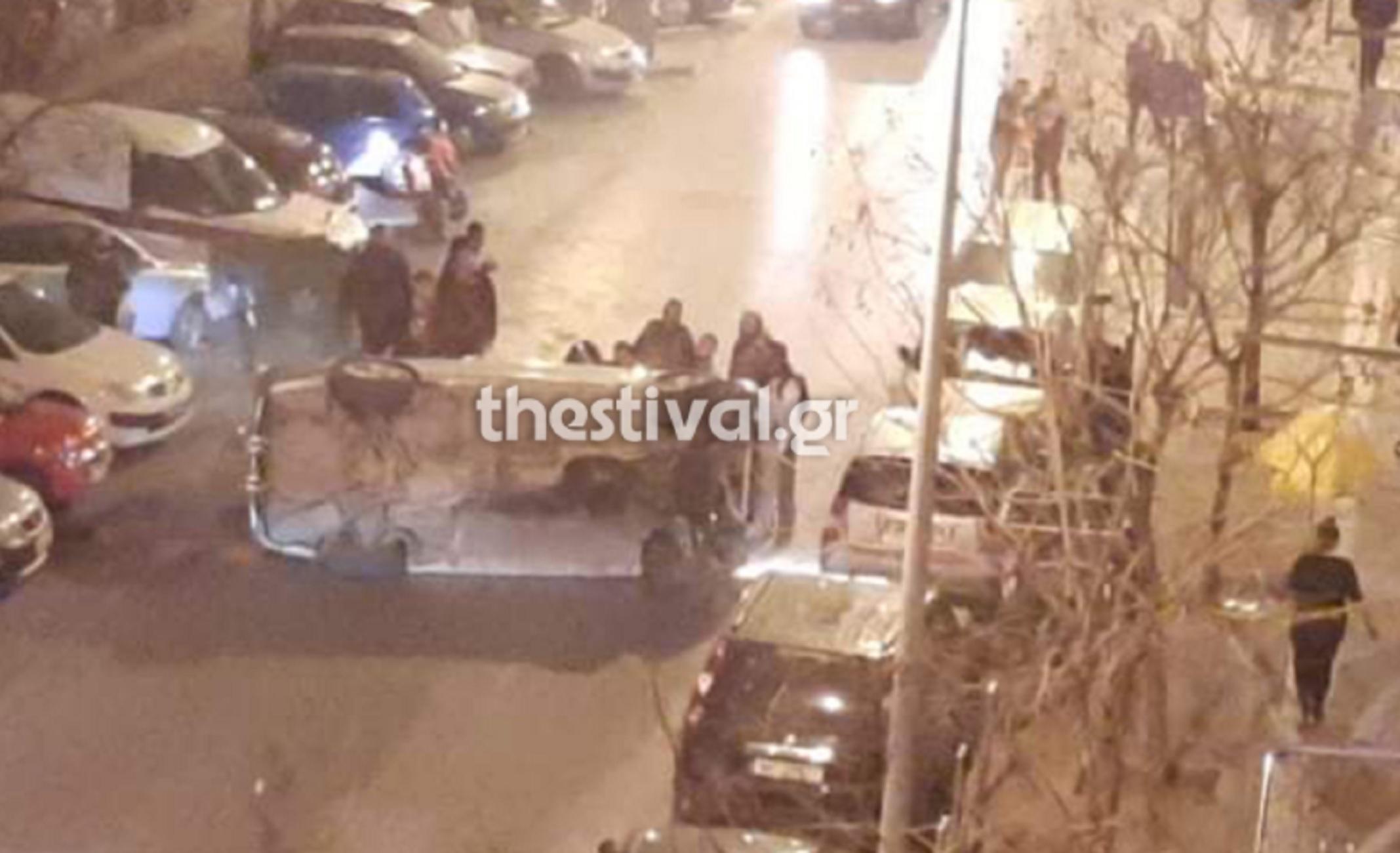 Θεσσαλονίκη: Απεγκλώβισαν γυναίκα από αυτό το αυτοκίνητο αλλά τη συνέχεια δεν την περίμενε κανείς (video)
