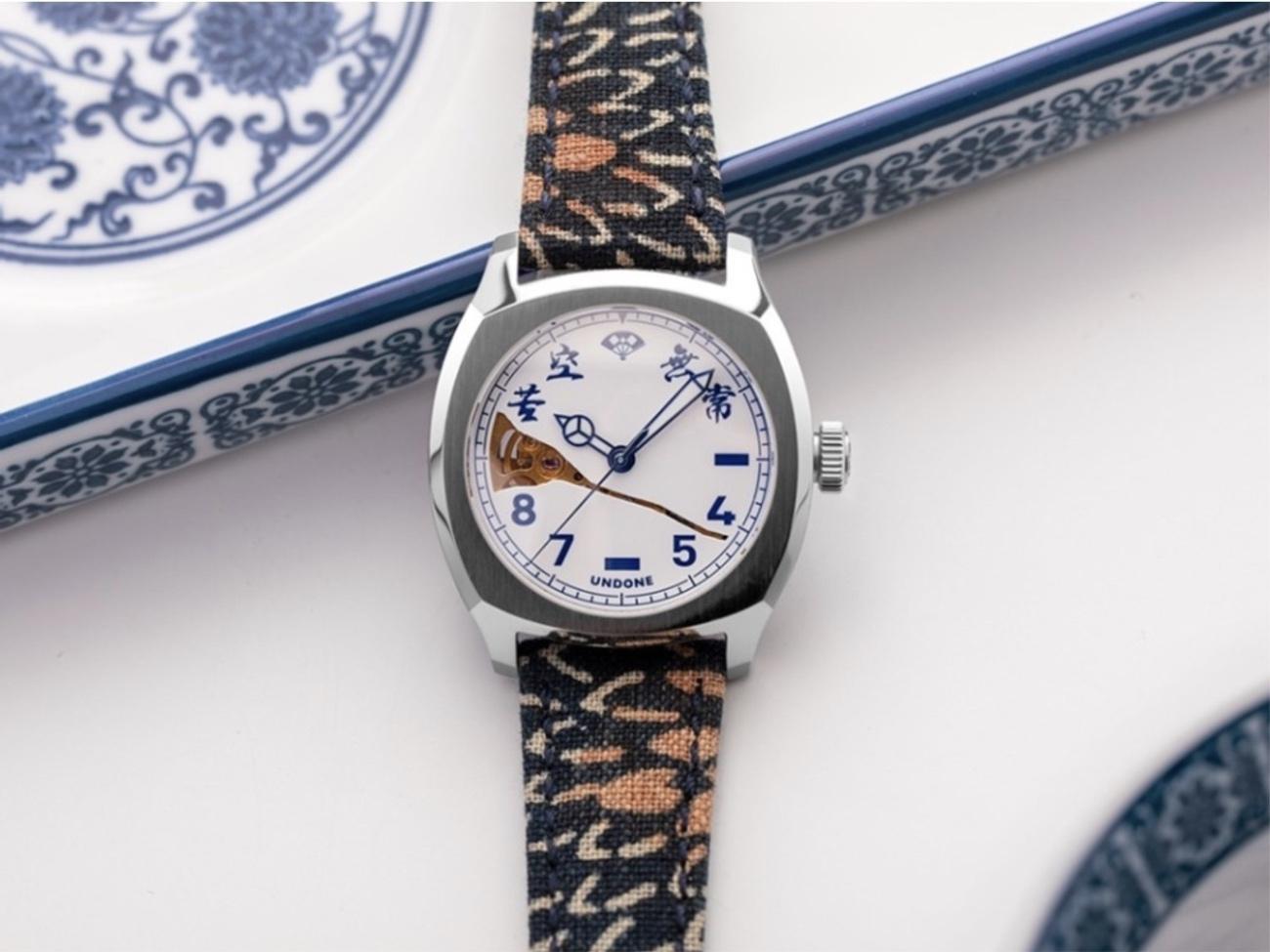 Ένα πανέμορφο ρολόι αφιερωμένο στην ιαπωνική φιλοσοφία wabi-sabi