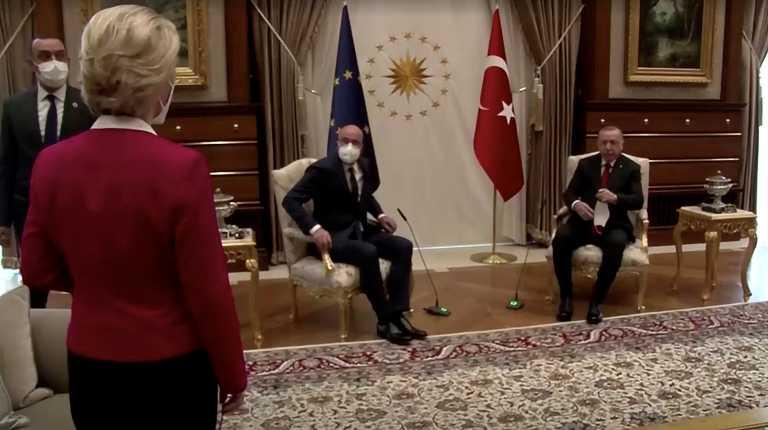 «Δικτάτορας ο Ερντογάν» είπε ο Ντράγκι, «είσαι διορισμένος» του απάντησε ο Τσαβούσογλου και διπλωματική «κόλαση» για το «Sofagate»