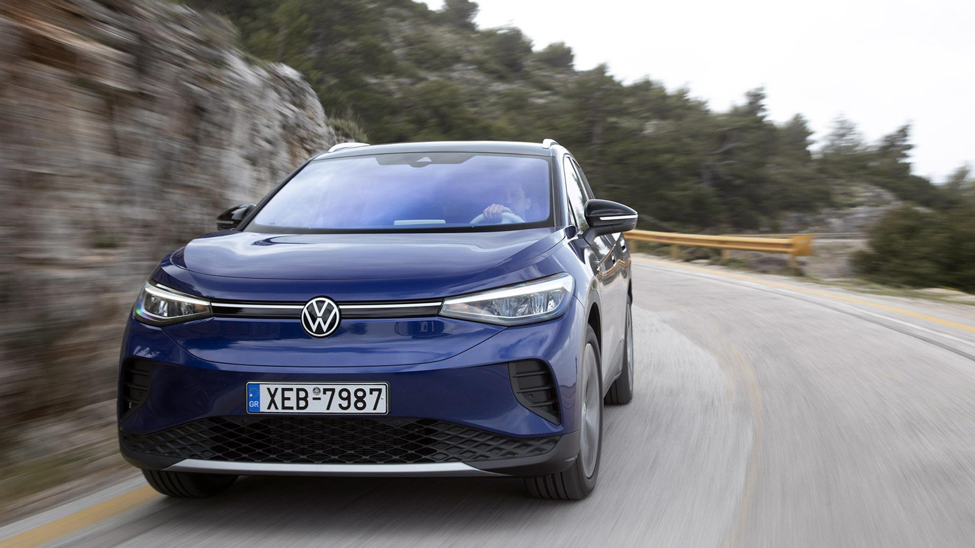 VW ID.4: Δοκιμάζουμε το πρώτο ηλεκτρικό SUV της Volkswagen (video)