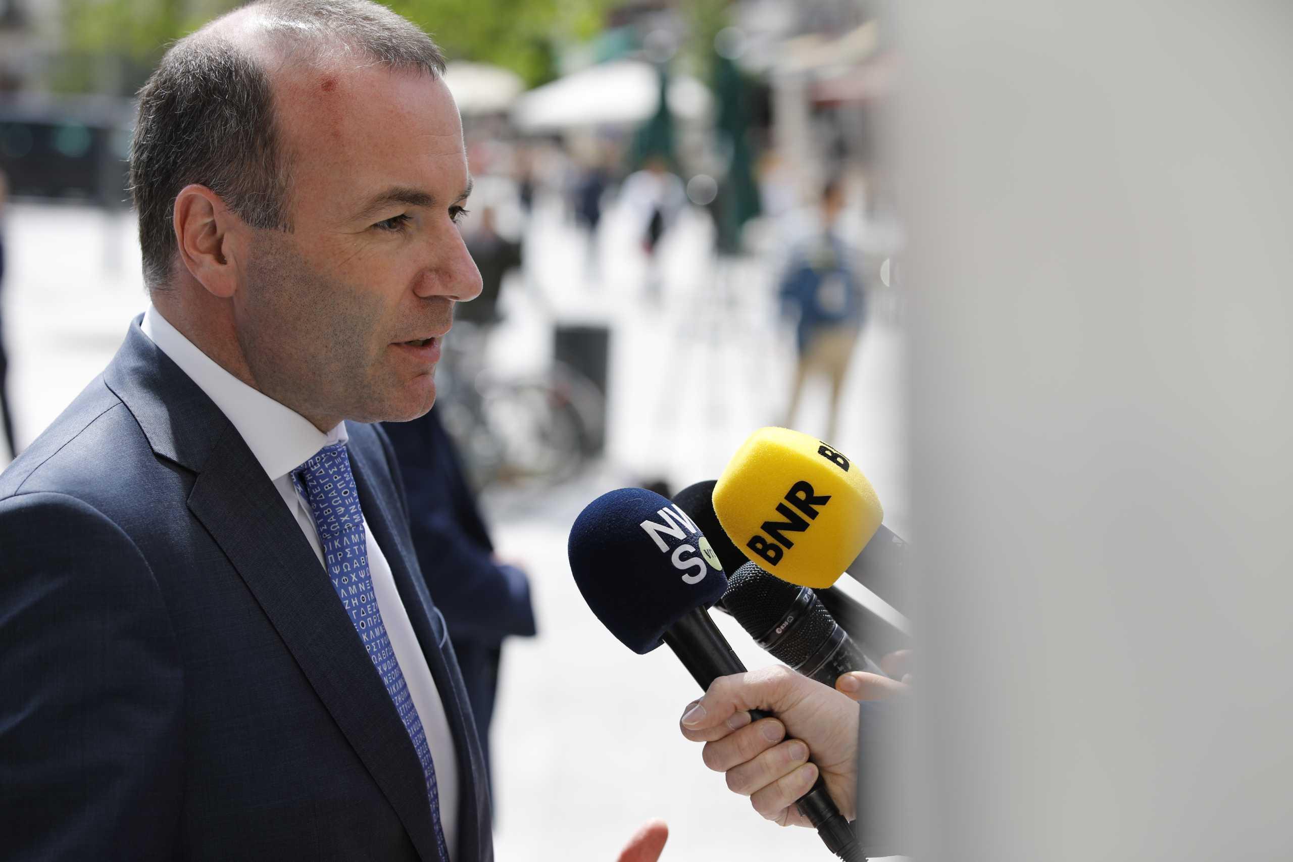 Βέμπερ: Τέλος στις ενταξιακές βλέψεις της Τουρκία στην ΕΕ – Απορρίπτουμε τη λύση των δύο κρατών