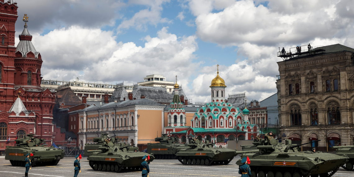 Η «αφρόκρεμα» των ρωσικών Ενόπλων Δυνάμεων στις πρόβες για την Ημέρα Νίκης [pics]