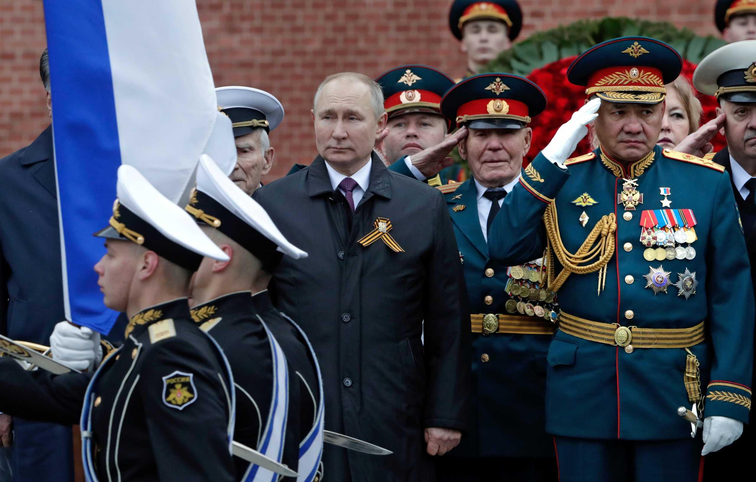 """""""Μήνυμα"""" Πούτιν: Θα υπερασπιζόμαστε πάντα και αποφασιστικά τα συμφέροντα μας"""