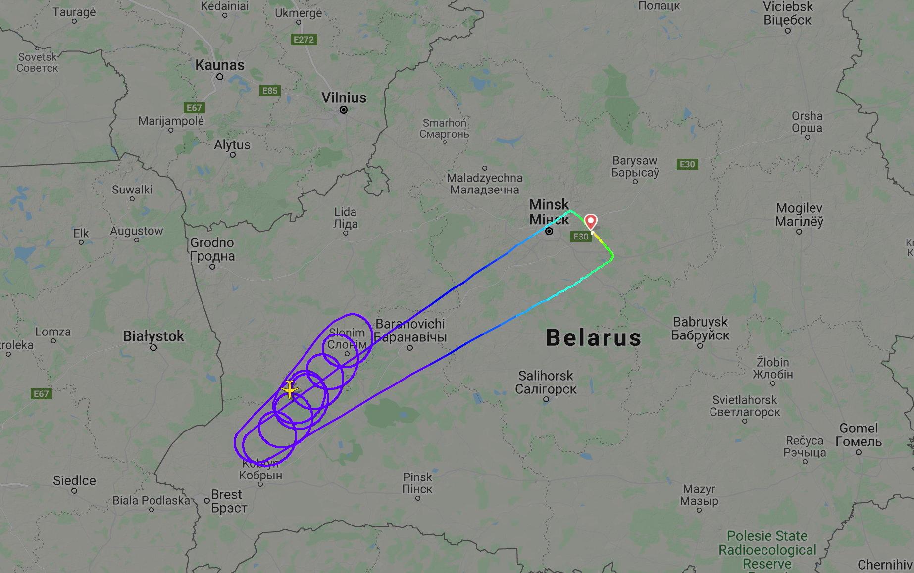 Λευκορωσία: Κατηγορεί τη Γαλλία για αεροπειρατεία επειδή δεν άφησε αεροπλάνο από το Μινσκ να περάσει από τον εναέριο χώρο της