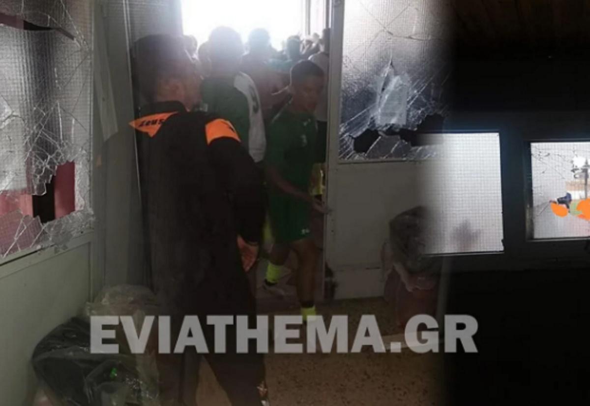 Επεισόδια με τραυματία στο γήπεδο της Θήβας