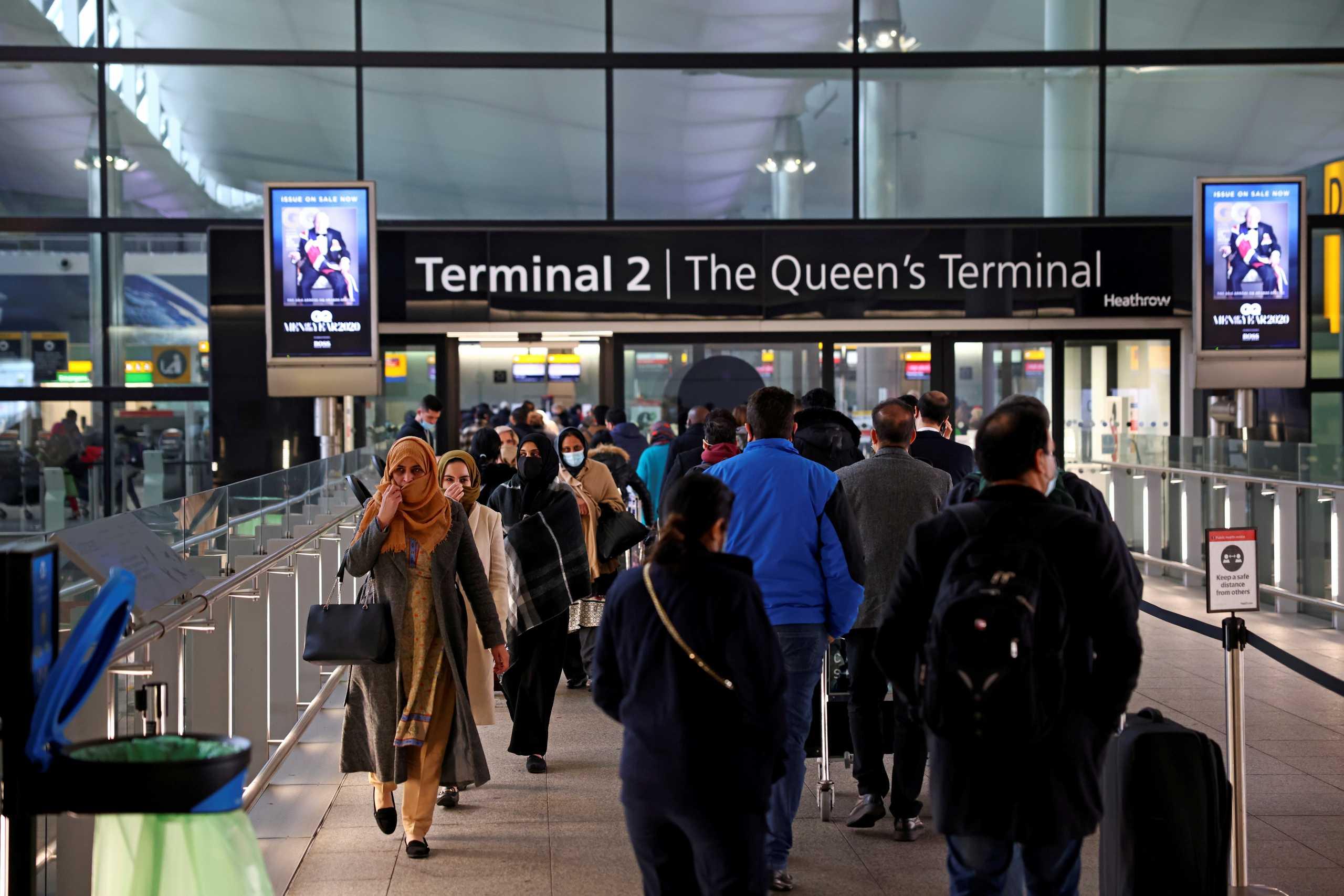 Βρετανία: Να μπει και η Ελλάδα στην πράσινη λίστα ζητάει ο επικεφαλής του αεροδρομίου του Χίθροου