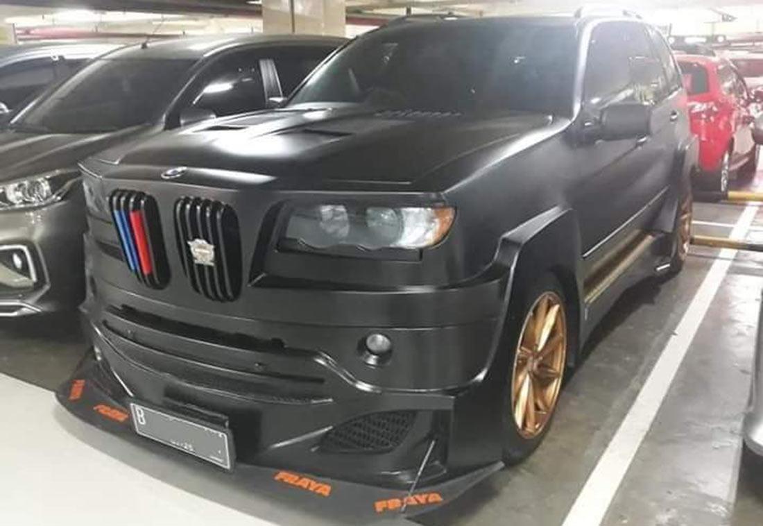 Μπορείς να φανταστείς πιο άσχημη BMW X5 από αυτήν εδώ; (video)
