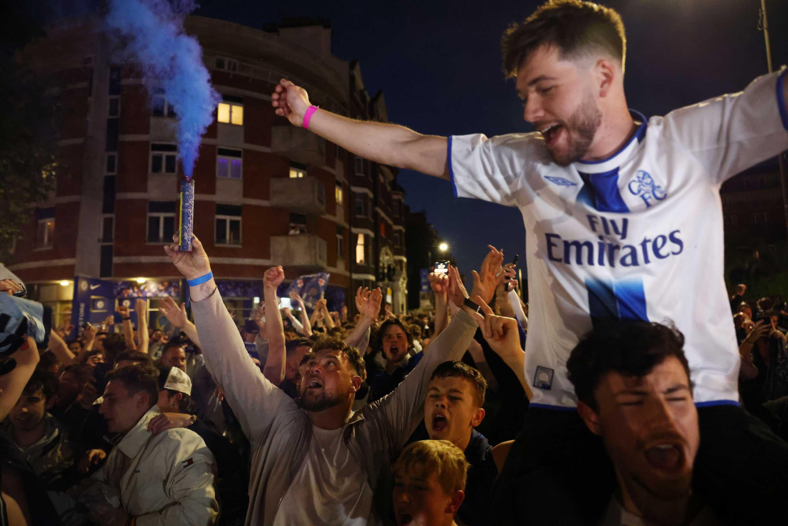 Τσέλσι: «Κάηκε» το Στάμφορντ Μπριτζ και το Λονδίνο για την πρωταθλήτρια Ευρώπης