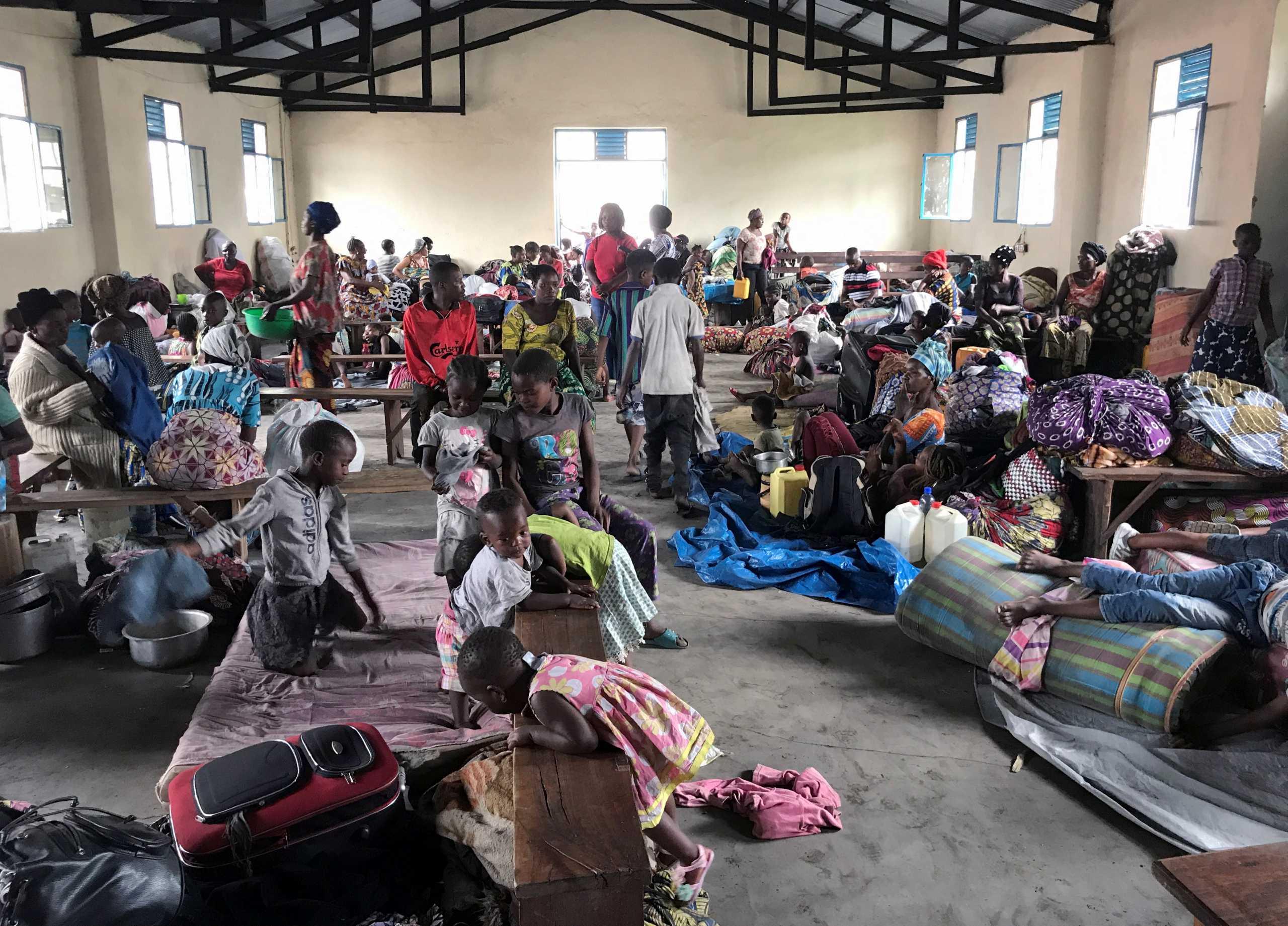 Κονγκό: 400.000 εκτοπισμένοι λόγω πιθανής  έκρηξης του ηφαιστείου Νιραγκόνγκο