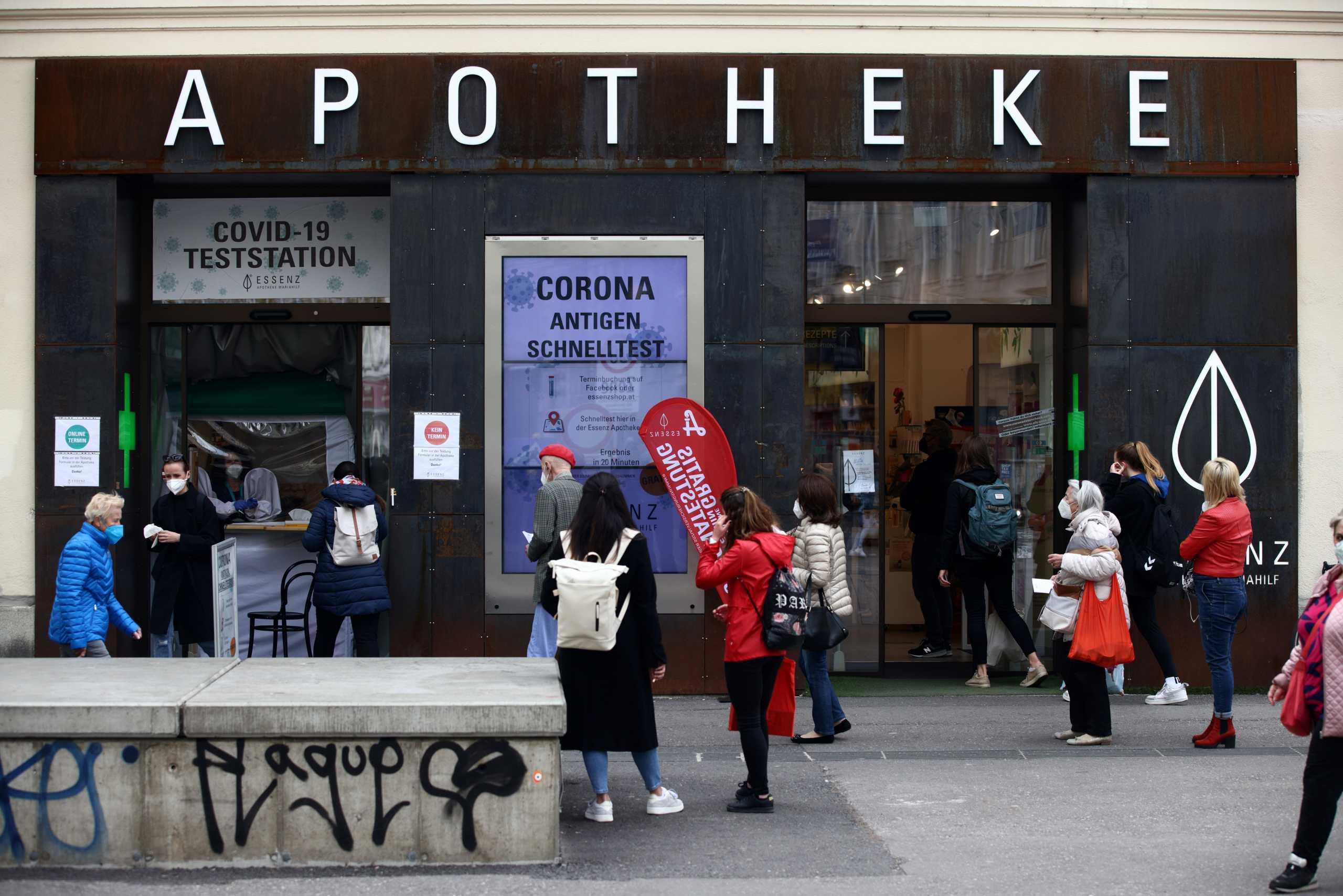 Τέλος το «σκληρό» lockdown σε όλη την Αυστρία – Η Βιέννη «πετά» τις μάσκες στους εξωτερικούς χώρους