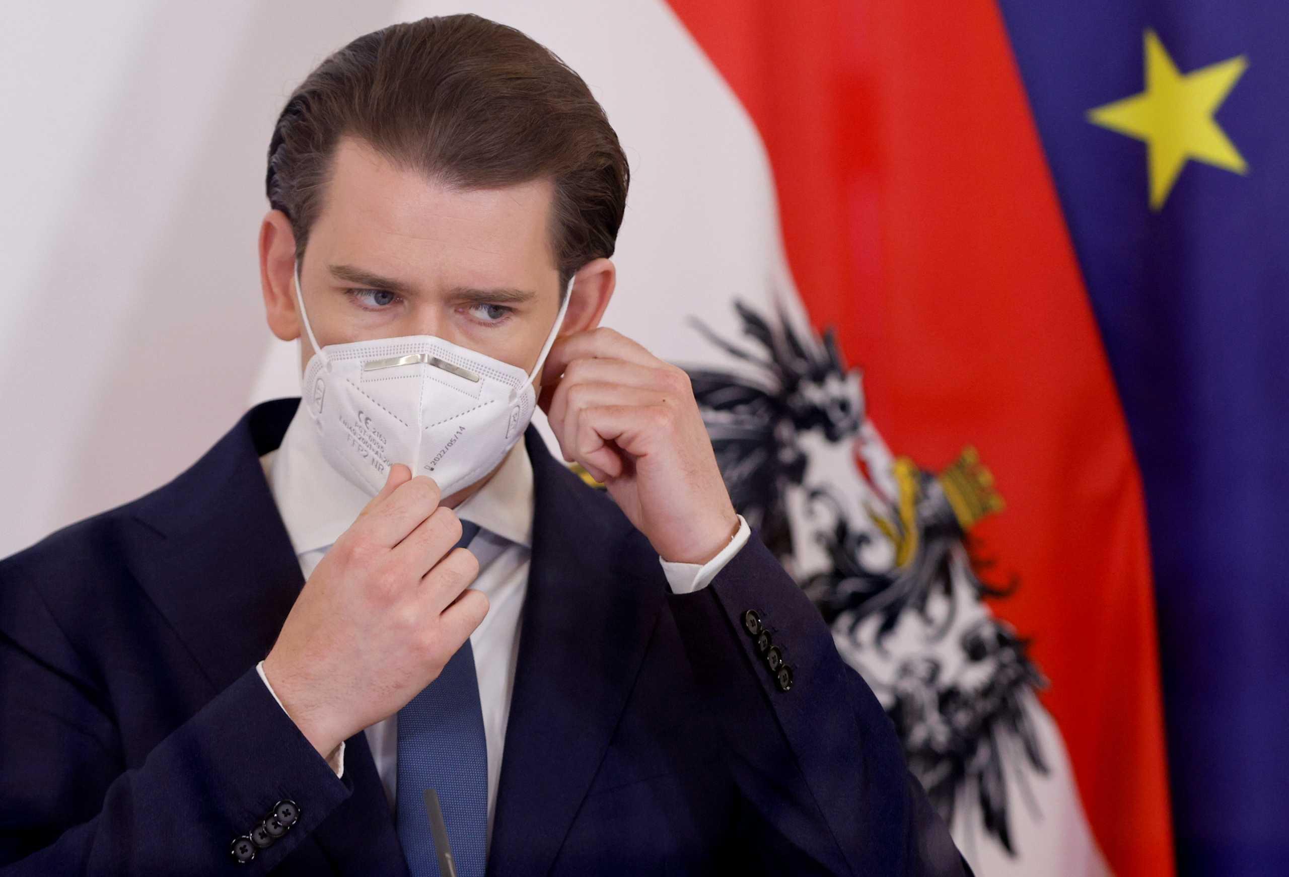 Αυστρία: «Πονοκέφαλος» για τον Κουρτς – Διχογνωμία στην κυβέρνηση για την χαλάρωση των μέτρων