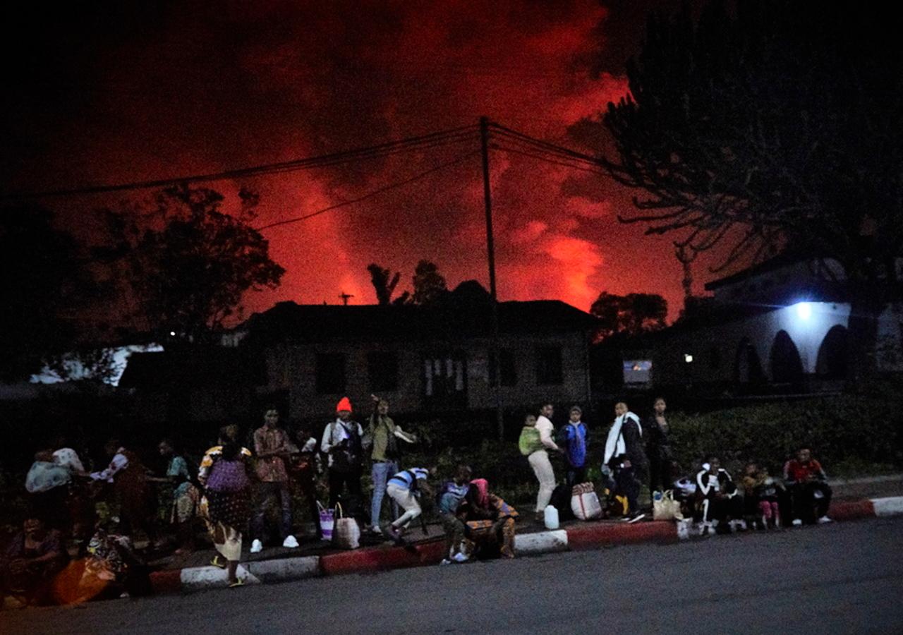 Κονγκό: Πανικός από την έκρηξη του ηφαιστείου Νιραγκόνγκο – Φεύγουν για την Ρουάντα οι κάτοικοι