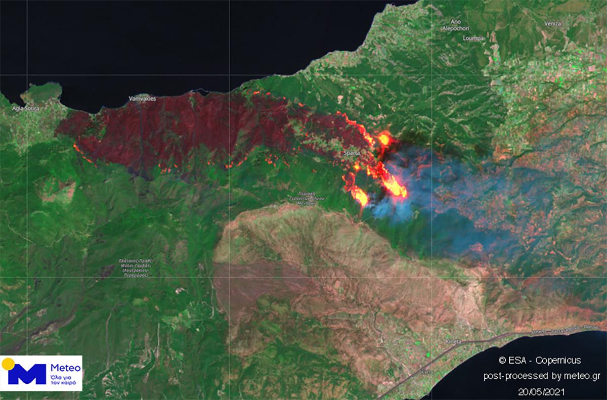 Η ενημέρωση Χαρδαλιά για την φωτιά σε Κορινθία και Δυτική Αττική