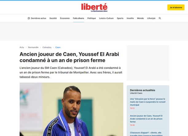 Liberte: «Ποινή φυλάκισης ενός έτους για τον Ελ Αραμπί»