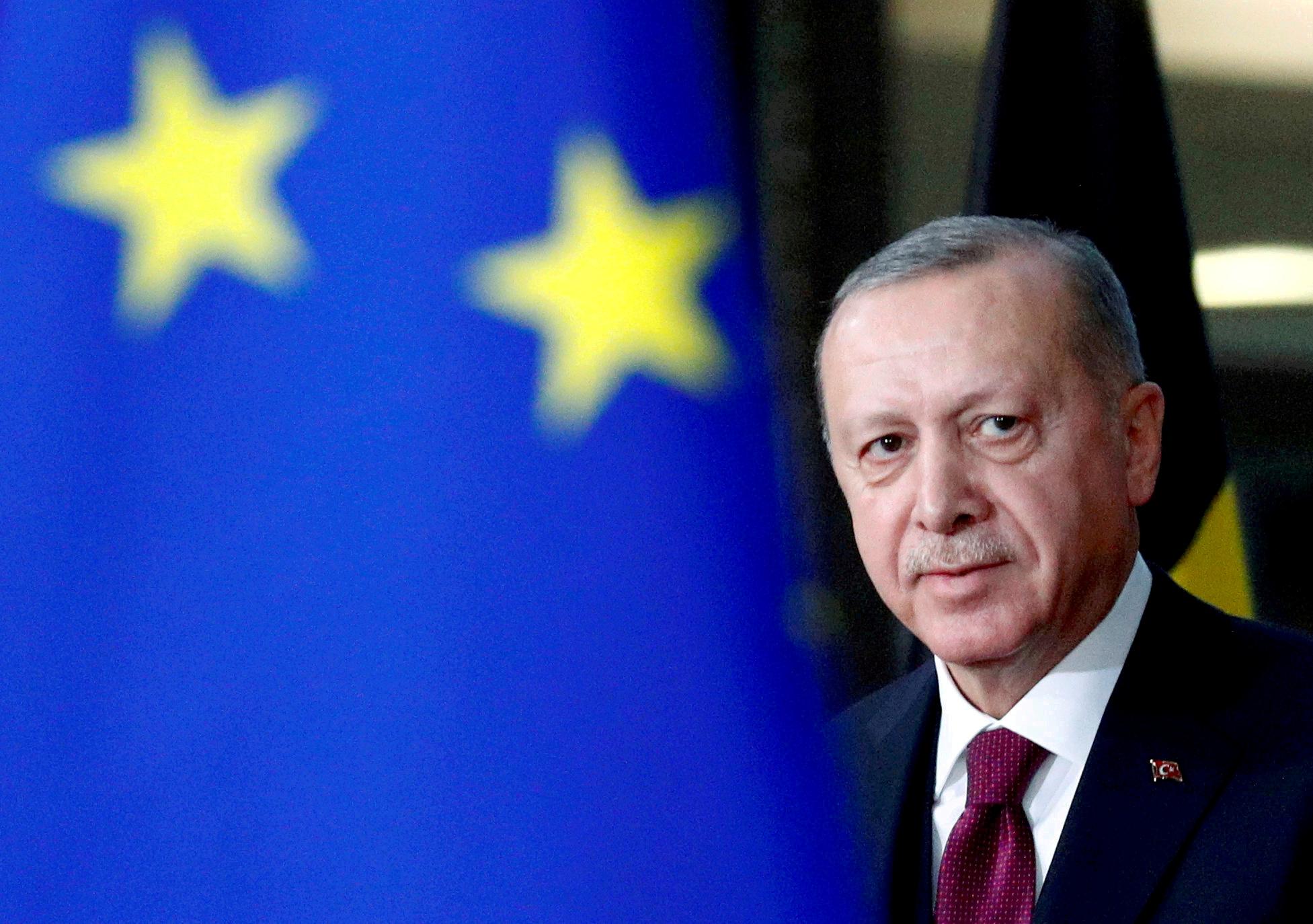 Επικοινωνία Ερντογάν – Φον Ντερ Λάιεν εν όψει του Ευρωπαϊκού Συμβουλίου